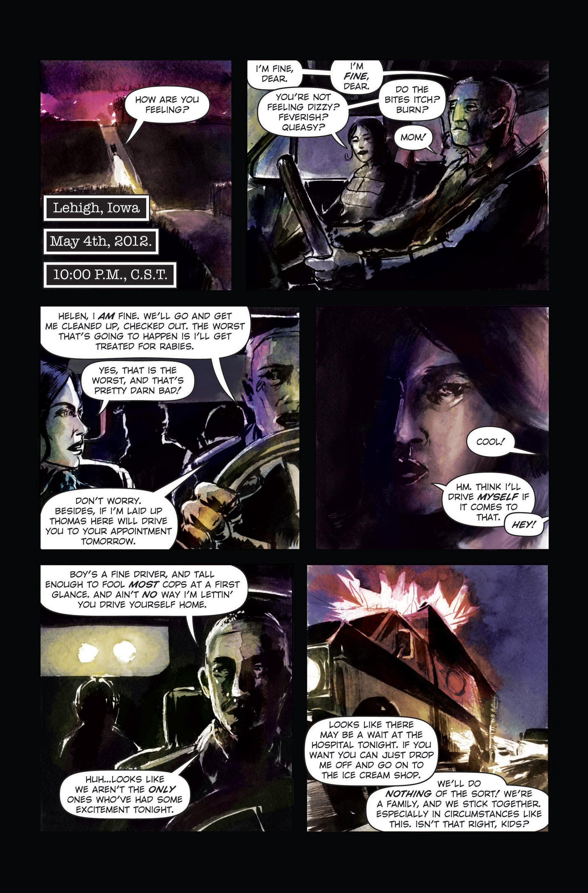 Read online The Final Plague comic -  Issue #3 - 10