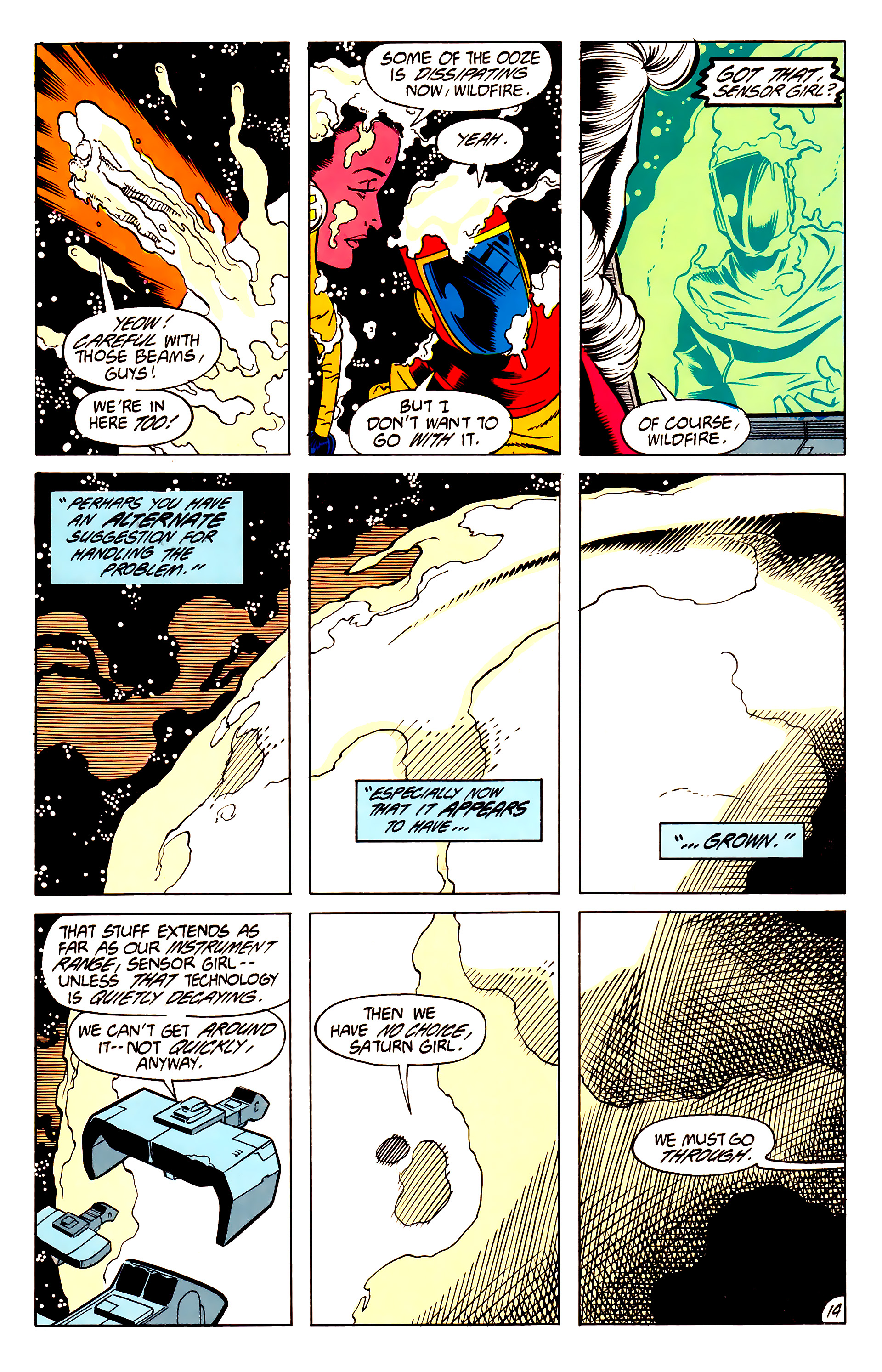 Legion of Super-Heroes (1984) 62 Page 14