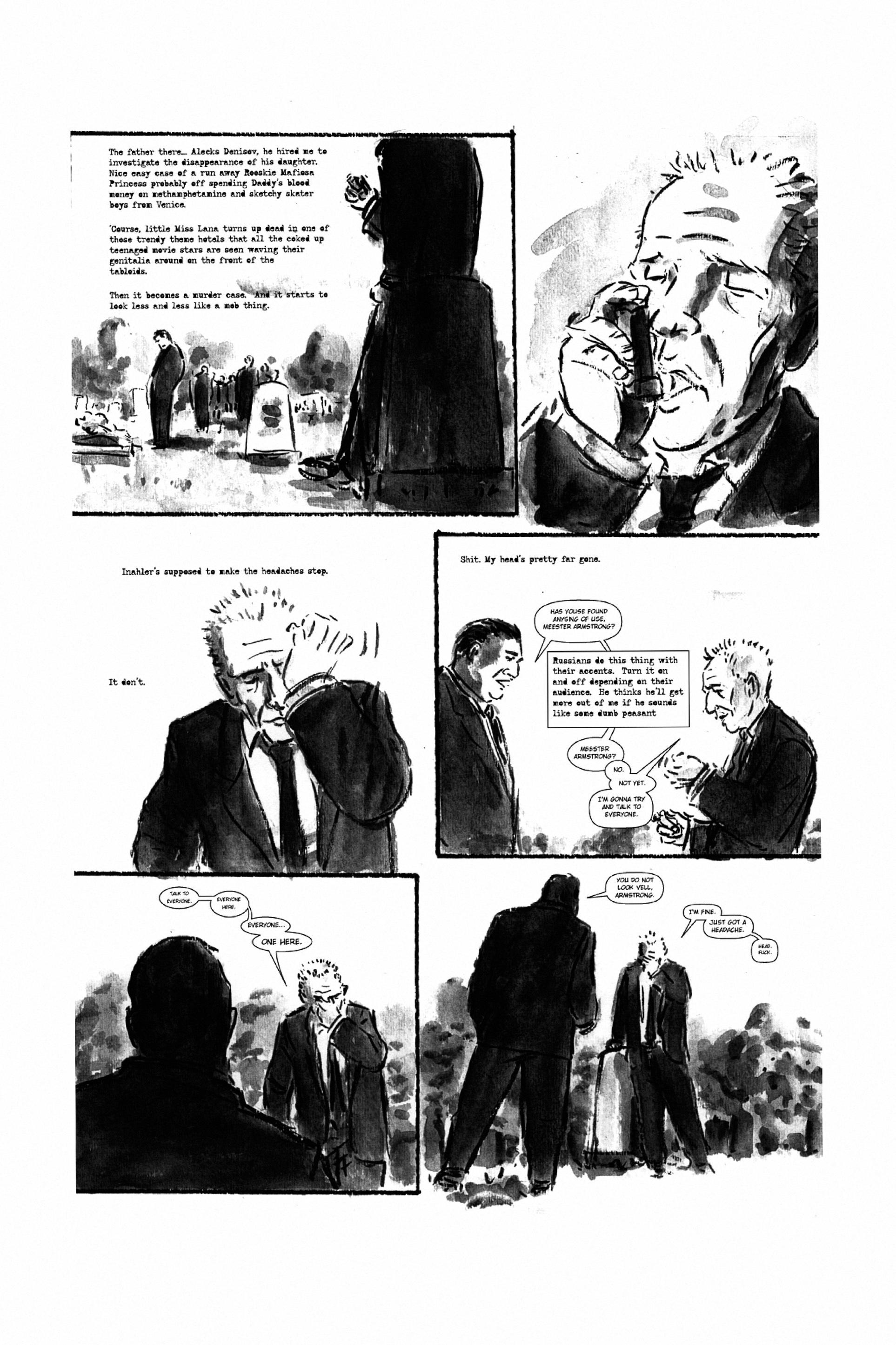 Read online Tumor comic -  Issue # TPB - 216