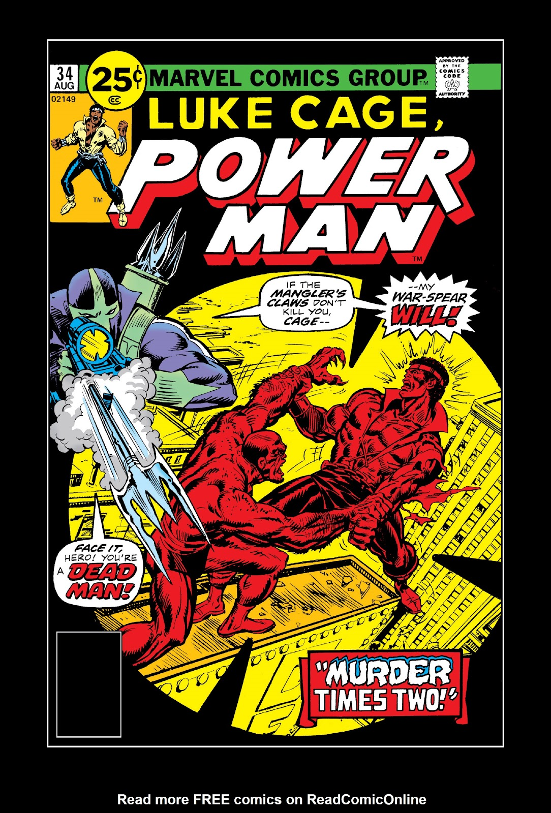 Read online Marvel Masterworks: Luke Cage, Power Man comic -  Issue # TPB 3 (Part 1) - 45