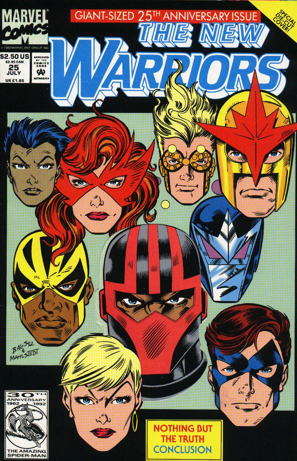 The New Warriors Issue #25 #29 - English 1