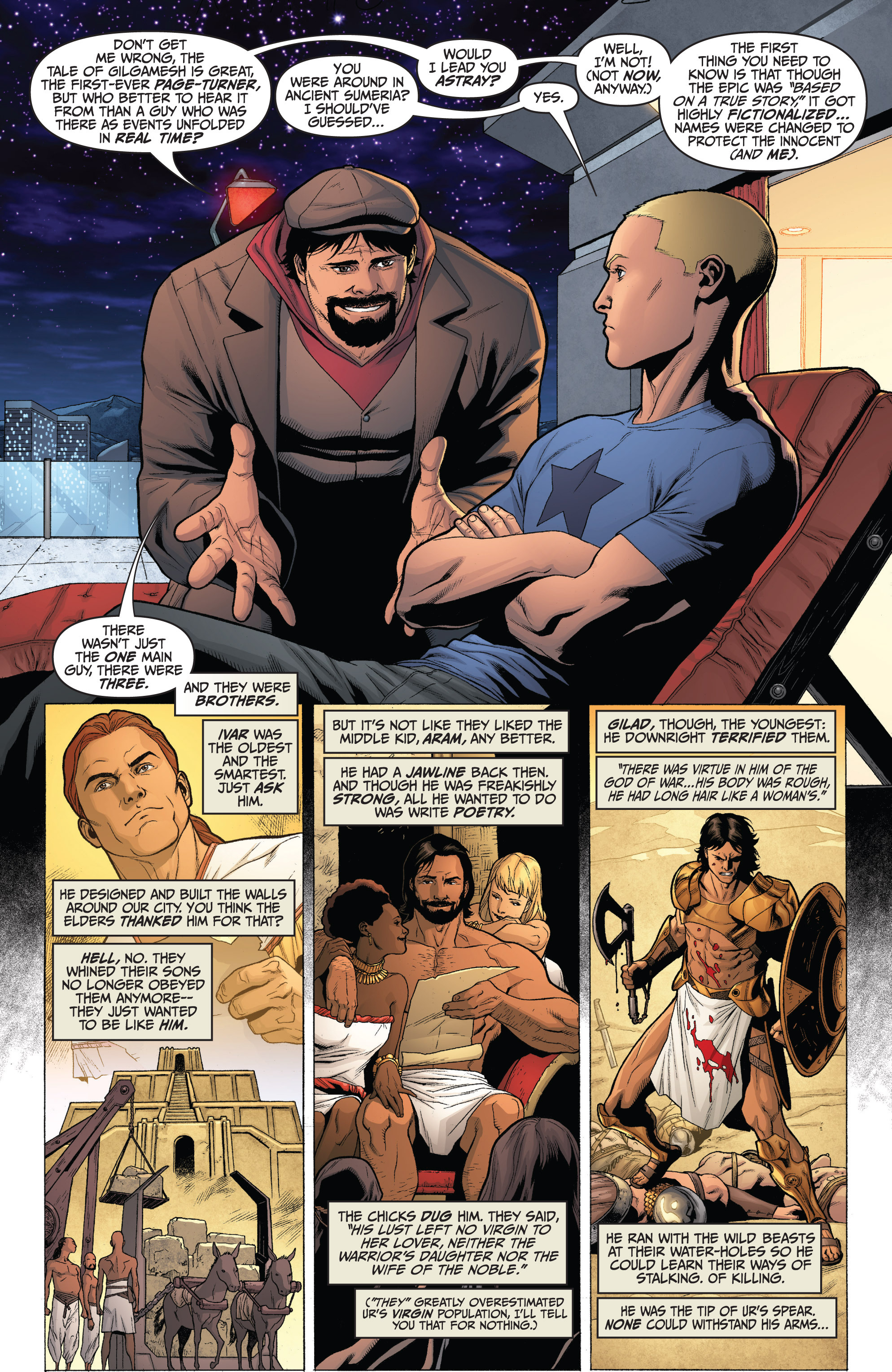 Read online Archer and Armstrong comic -  Issue #0 - 4