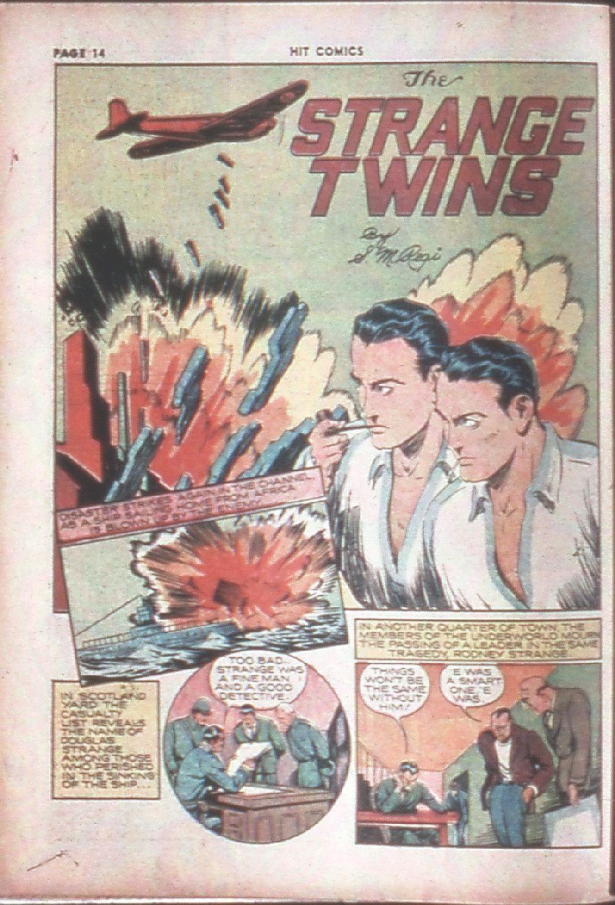 Read online Hit Comics comic -  Issue #8 - 16