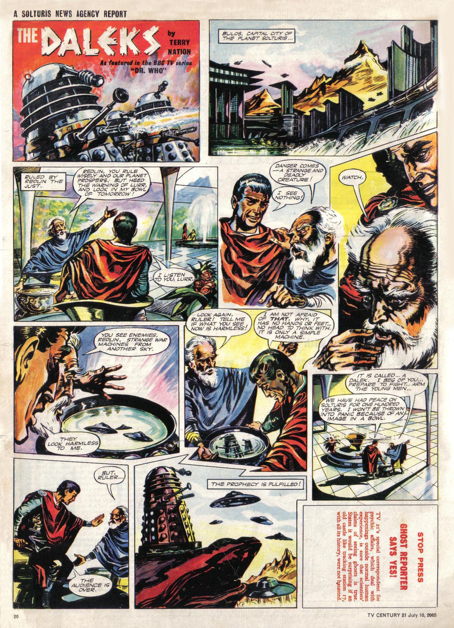 Read online TV Century 21 (TV 21) comic -  Issue #25 - 19