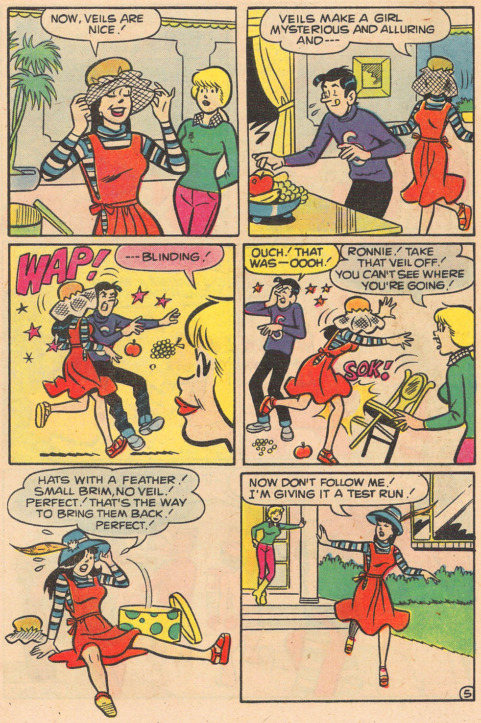 Read online Archie's Girls Betty and Veronica comic -  Issue #259 - 7