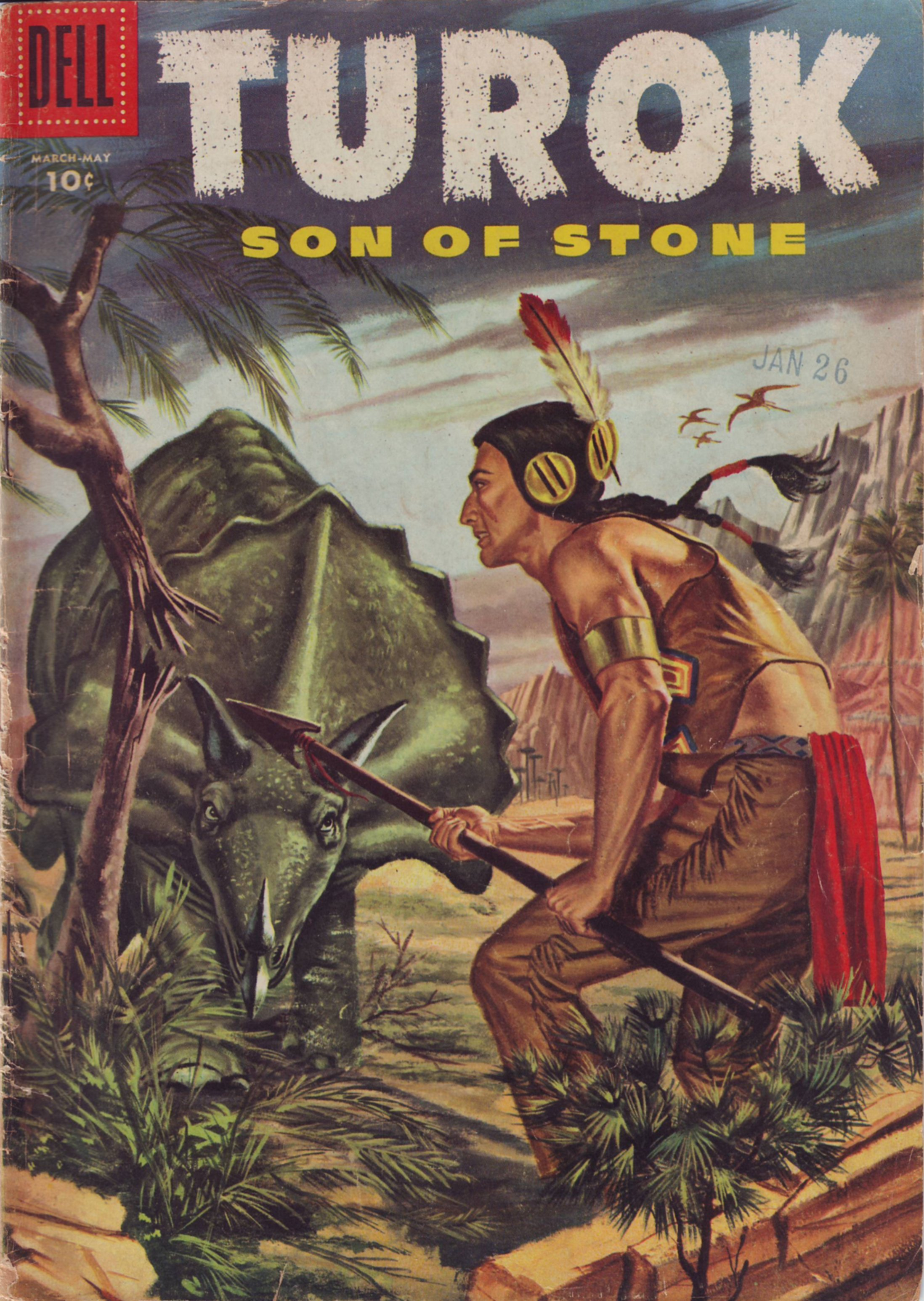 Read online Turok, Son of Stone comic -  Issue #3 - 1