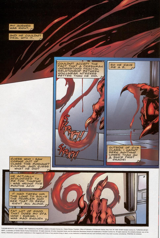 Read online Turok: Redpath comic -  Issue # Full - 2