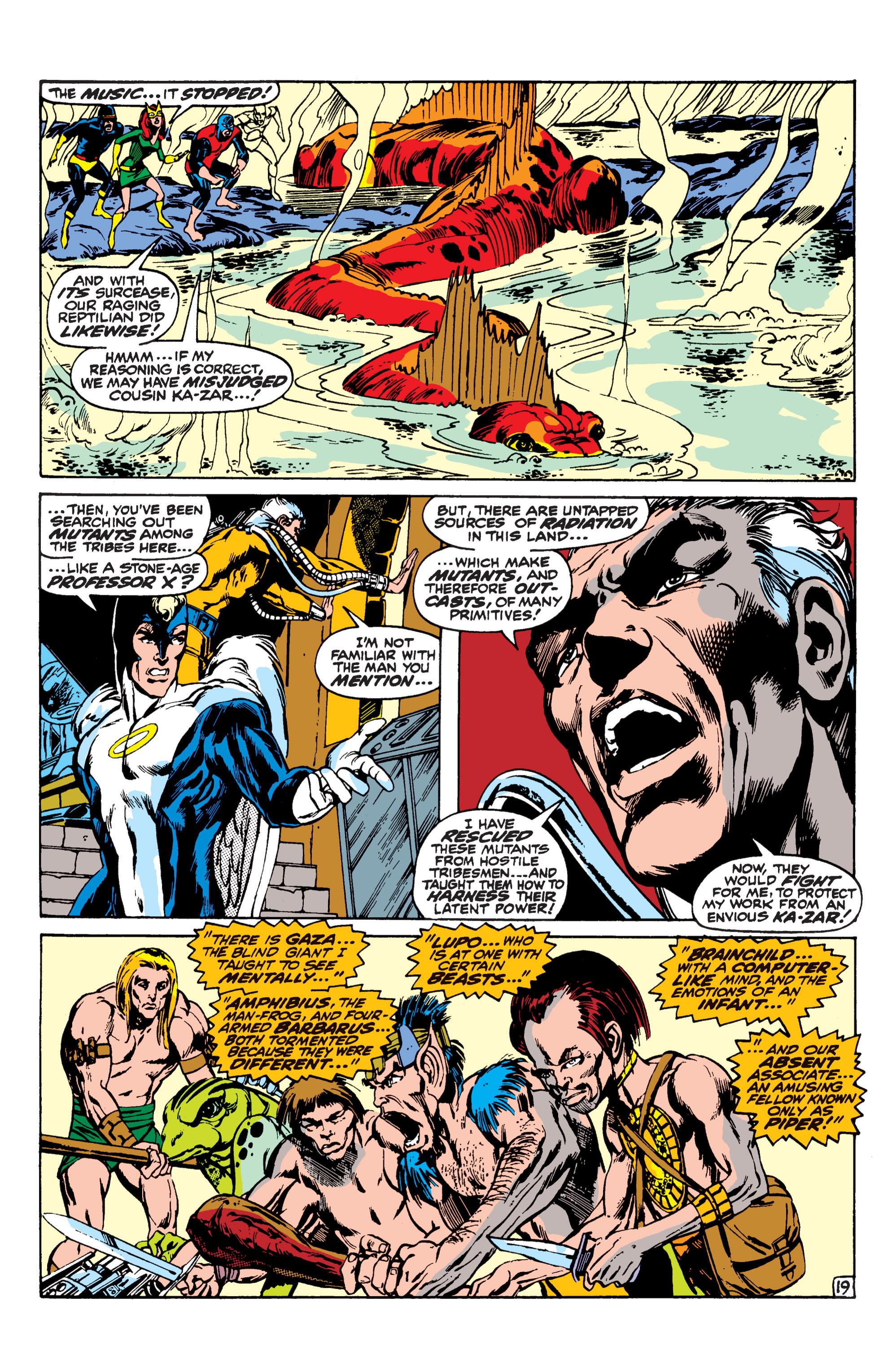 Uncanny X-Men (1963) 62 Page 19