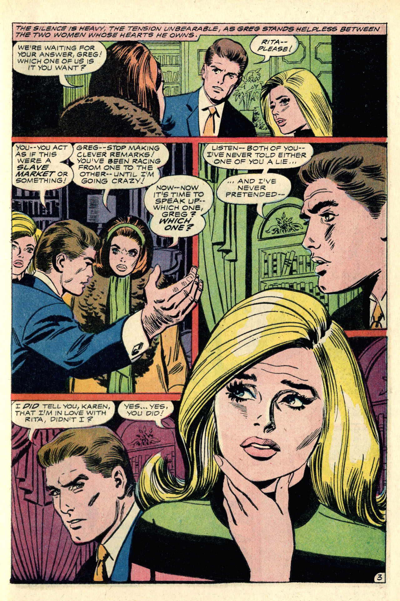 Read online Secret Hearts comic -  Issue #127 - 21