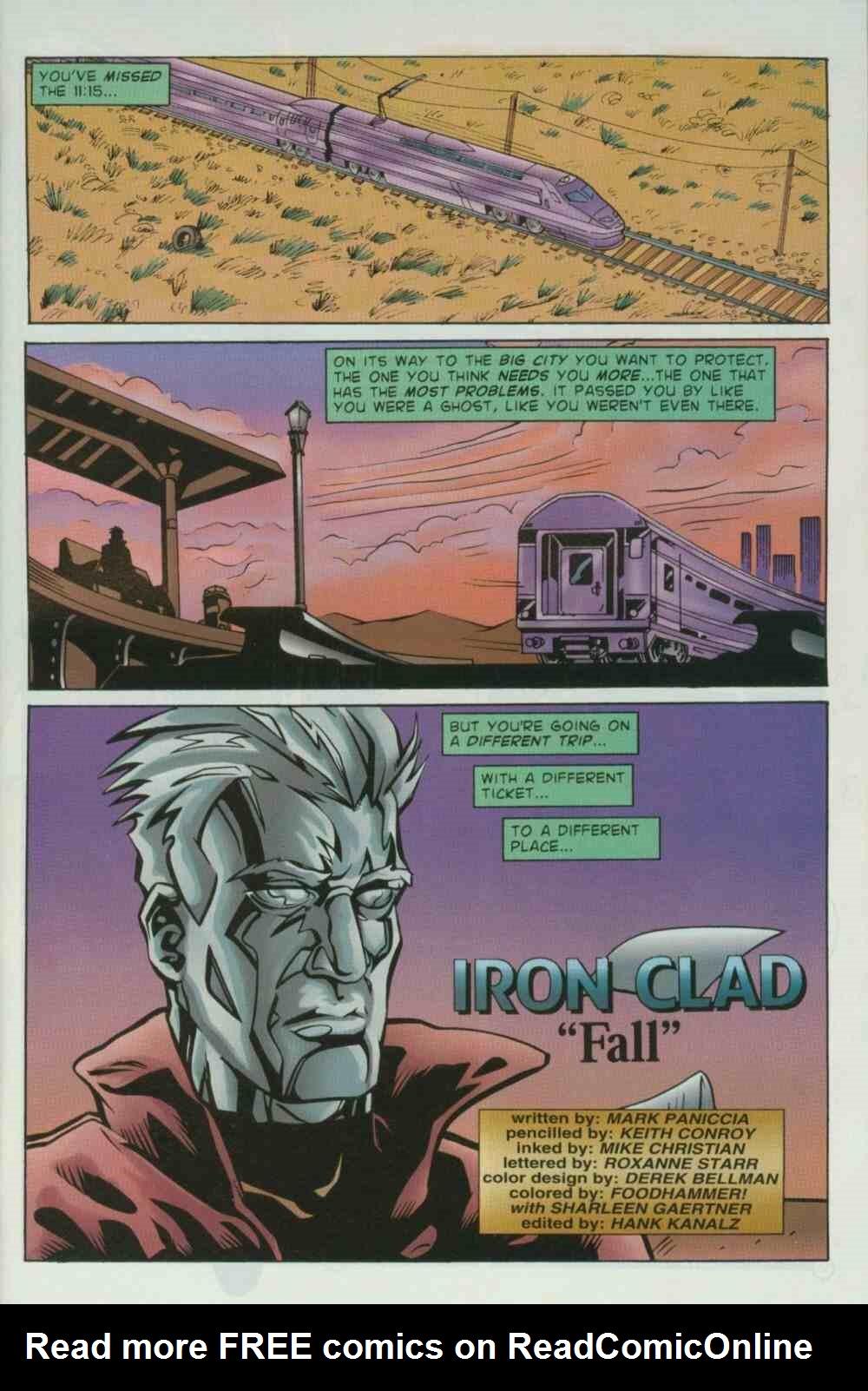 Read online Ultraverse Premiere comic -  Issue #7 - 3