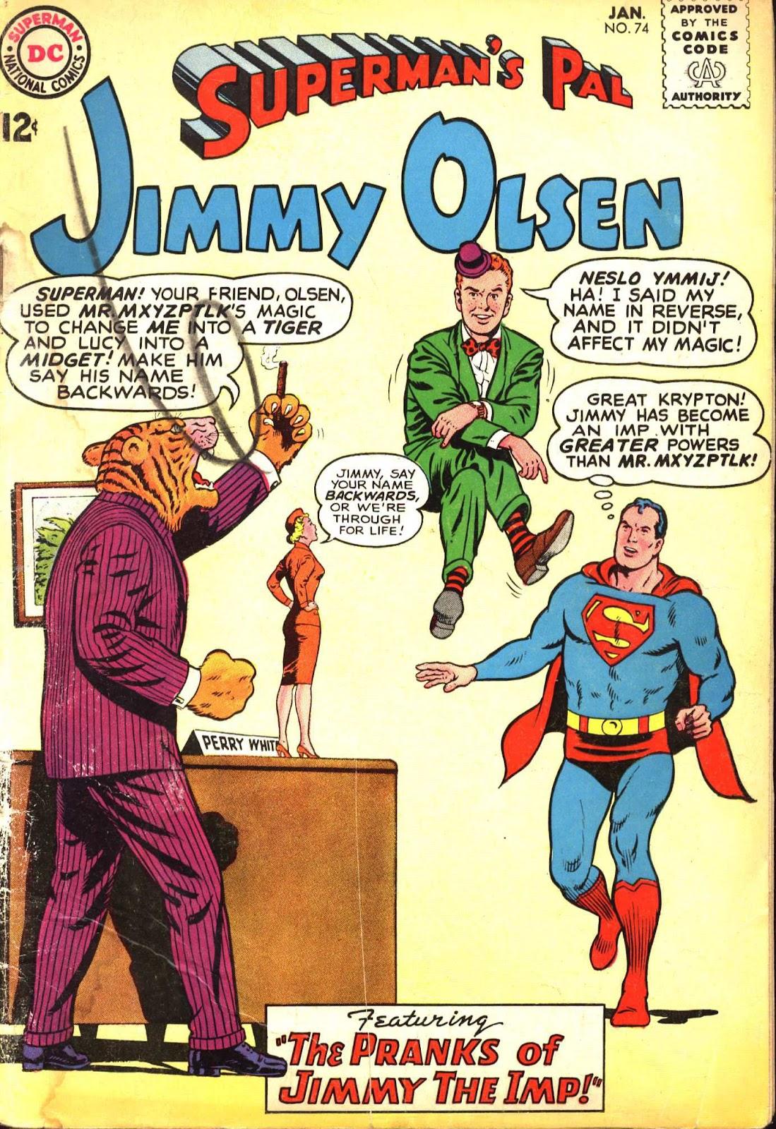 Supermans Pal Jimmy Olsen (1954) 74 Page 1