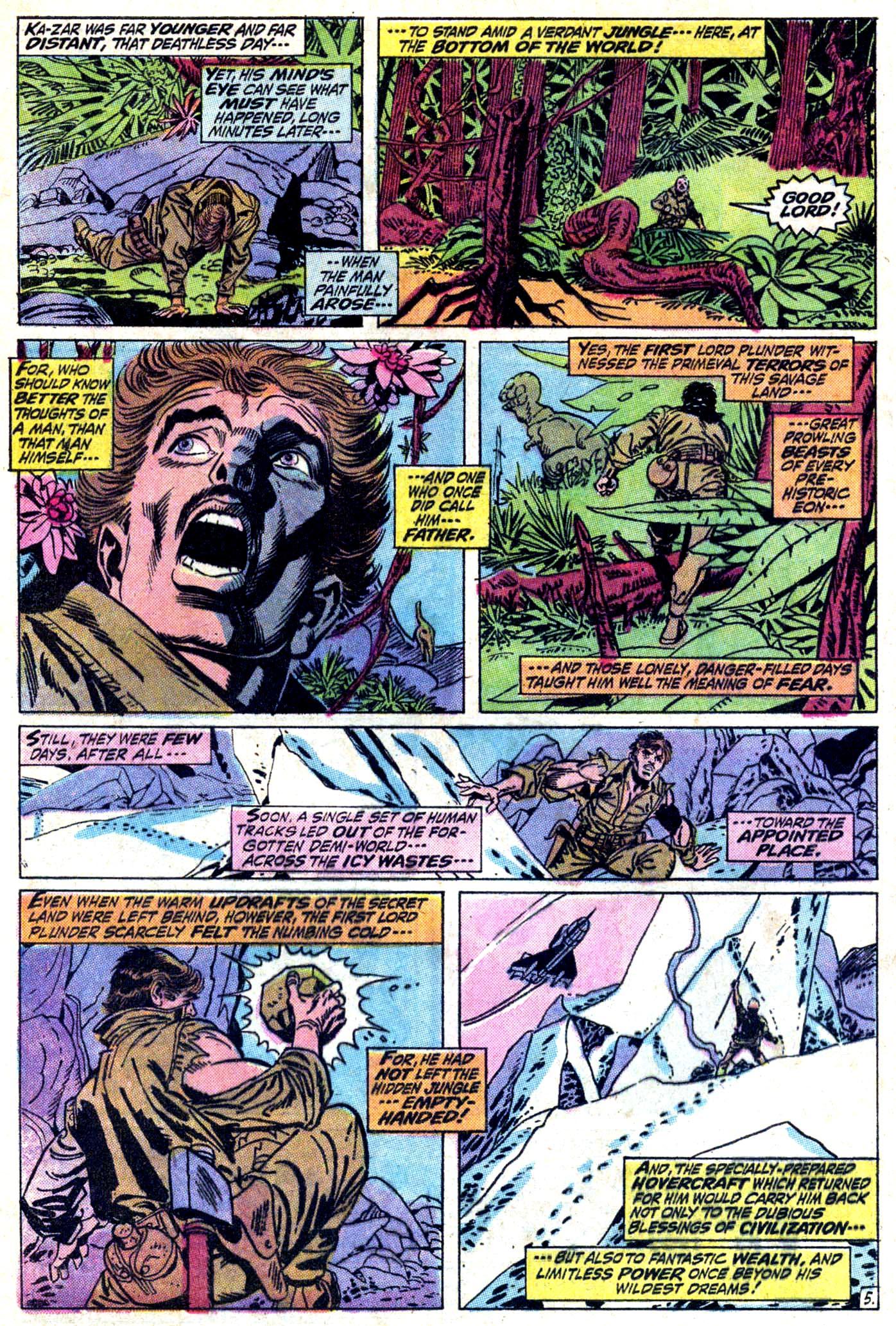 Read online Astonishing Tales (1970) comic -  Issue #11 - 6