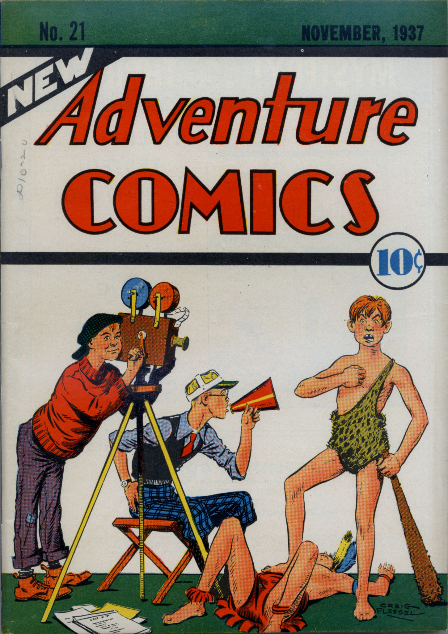 Read online Adventure Comics (1938) comic -  Issue #21 - 2