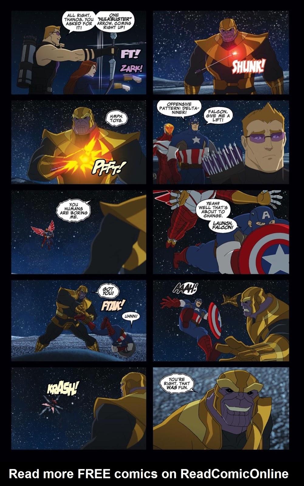 Read online Marvel Universe Avengers Assemble Season 2 comic -  Issue #2 - 11