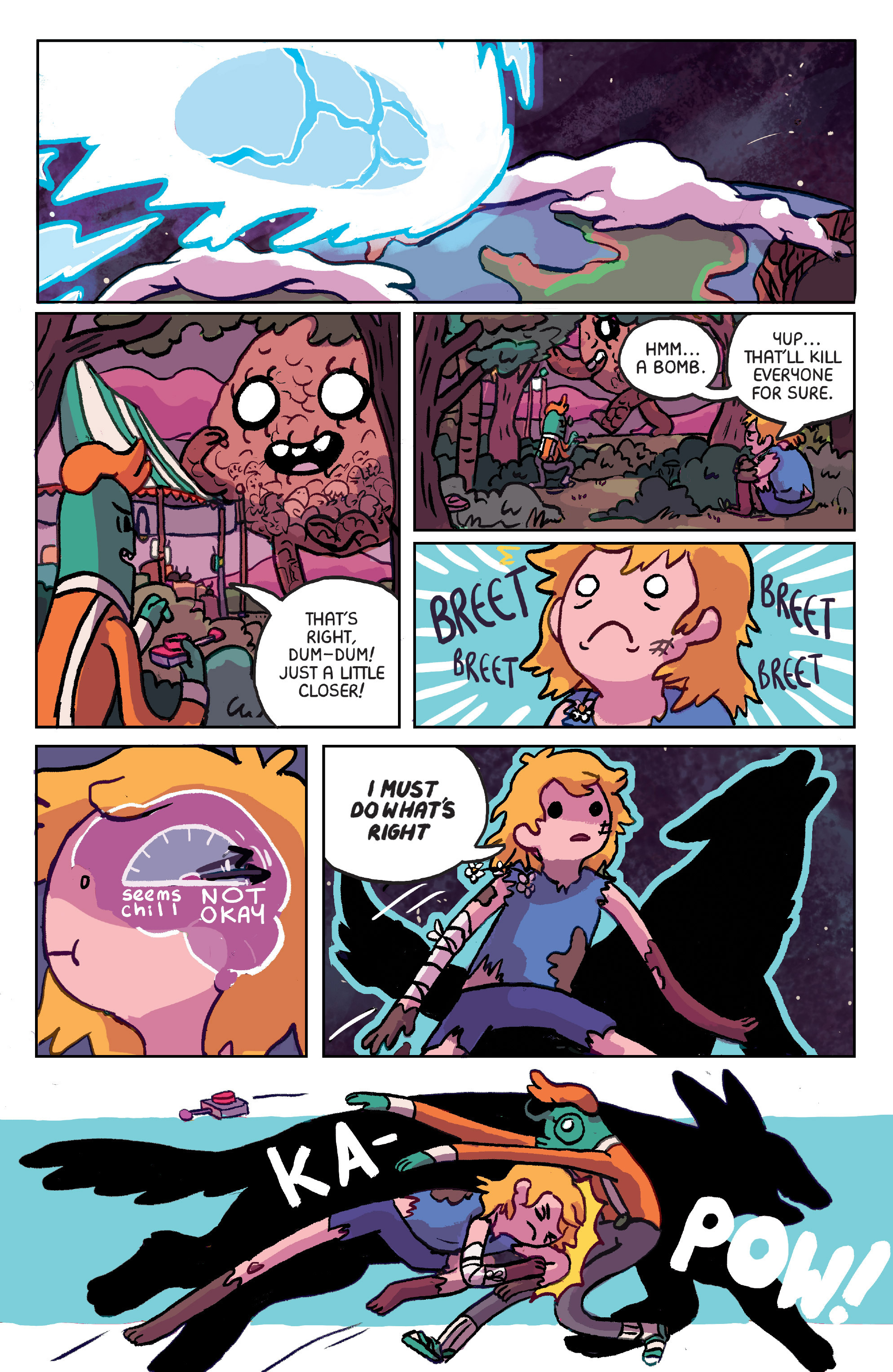 Read online Adventure Time: Marceline Gone Adrift comic -  Issue #6 - 18