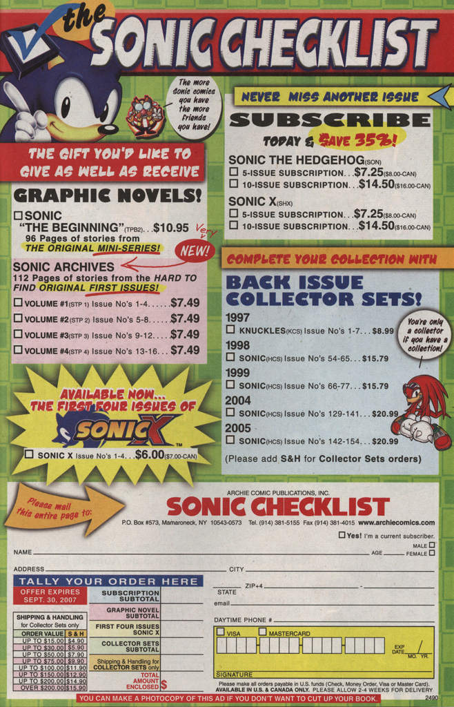 Read online Sonic X comic -  Issue #21 - 33