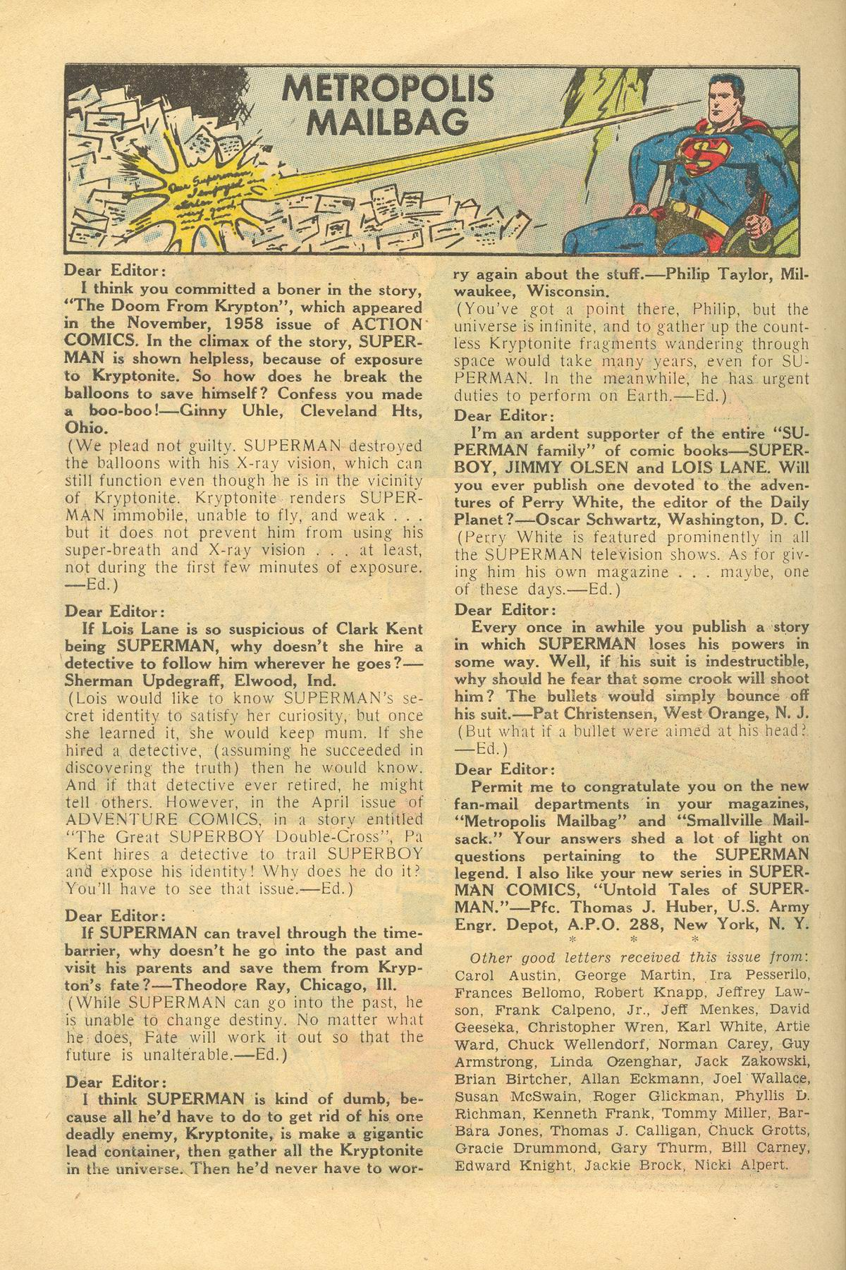 Read online Action Comics (1938) comic -  Issue #249 - 26