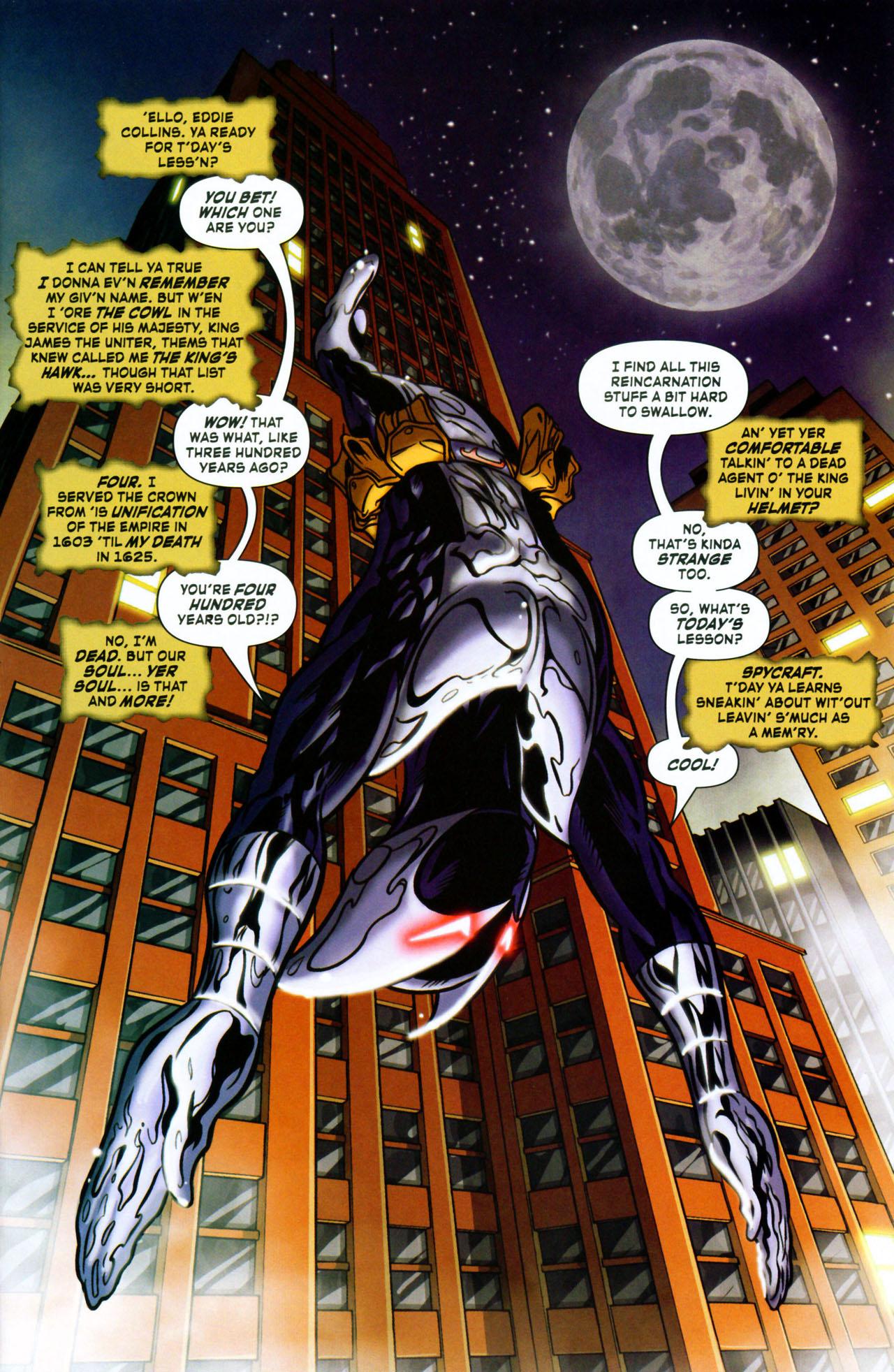 Read online ShadowHawk (2005) comic -  Issue #1 - 5