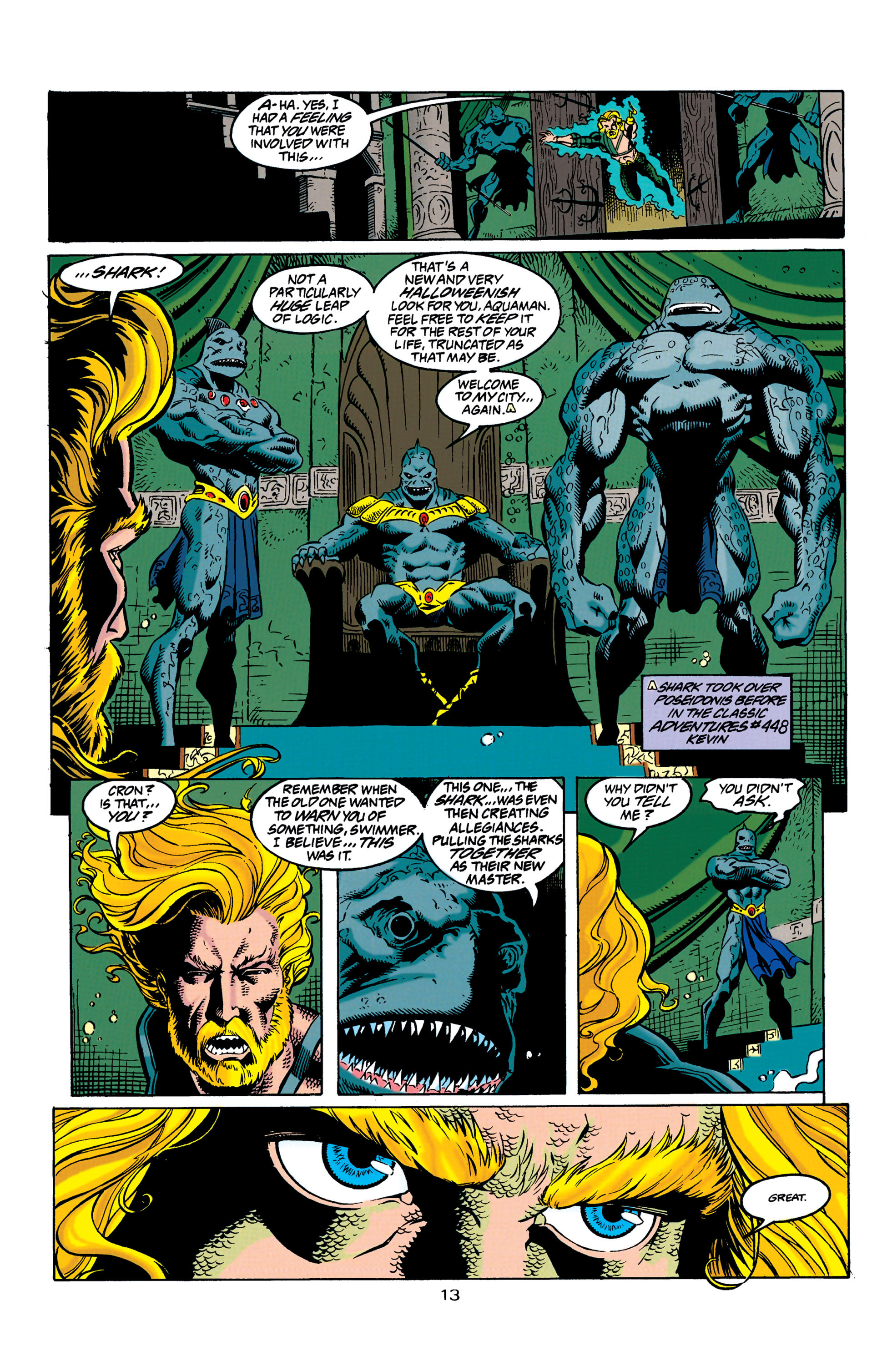 Read online Aquaman (1994) comic -  Issue #31 - 14