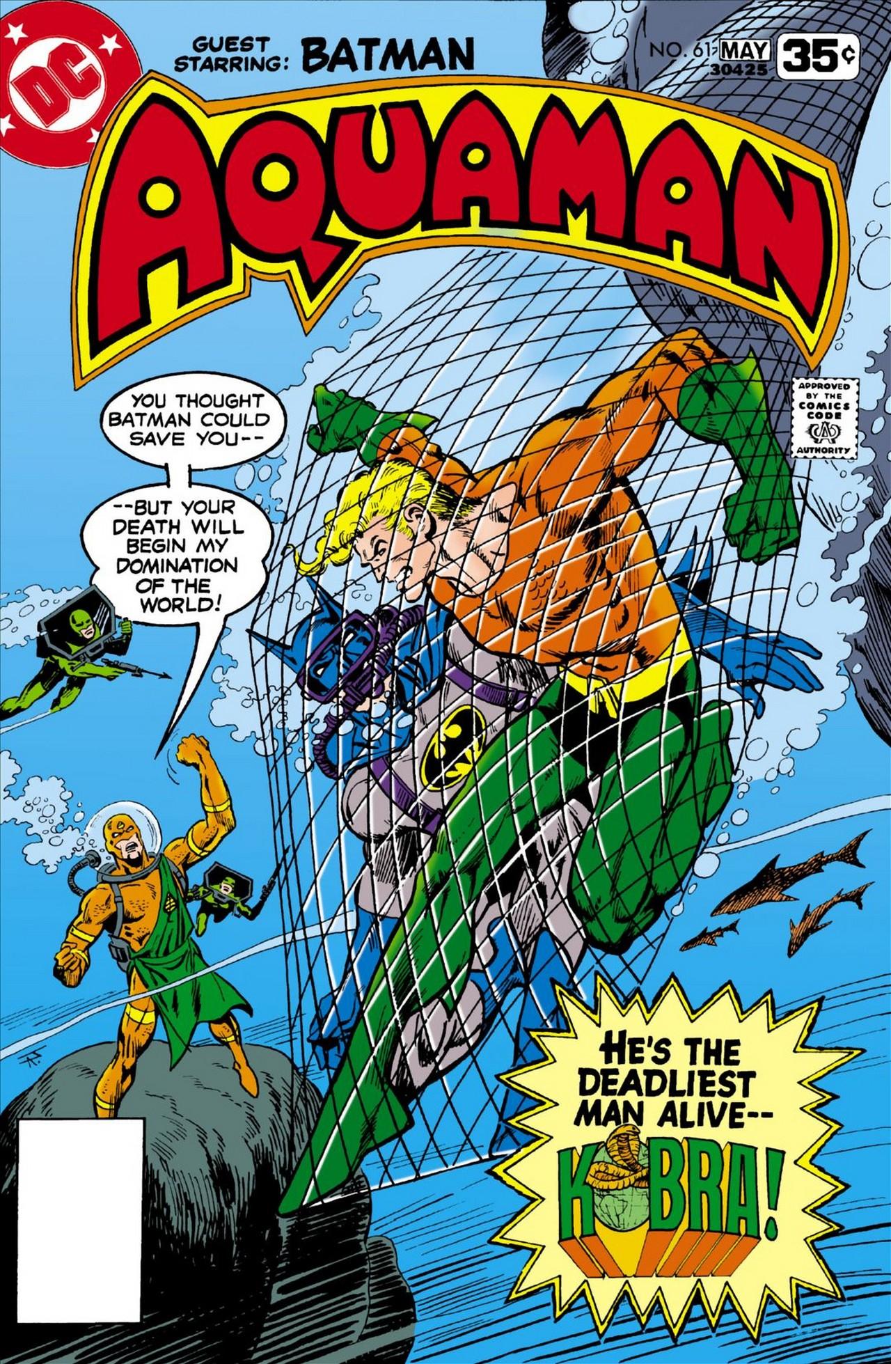 Read online Aquaman (1962) comic -  Issue #61 - 1