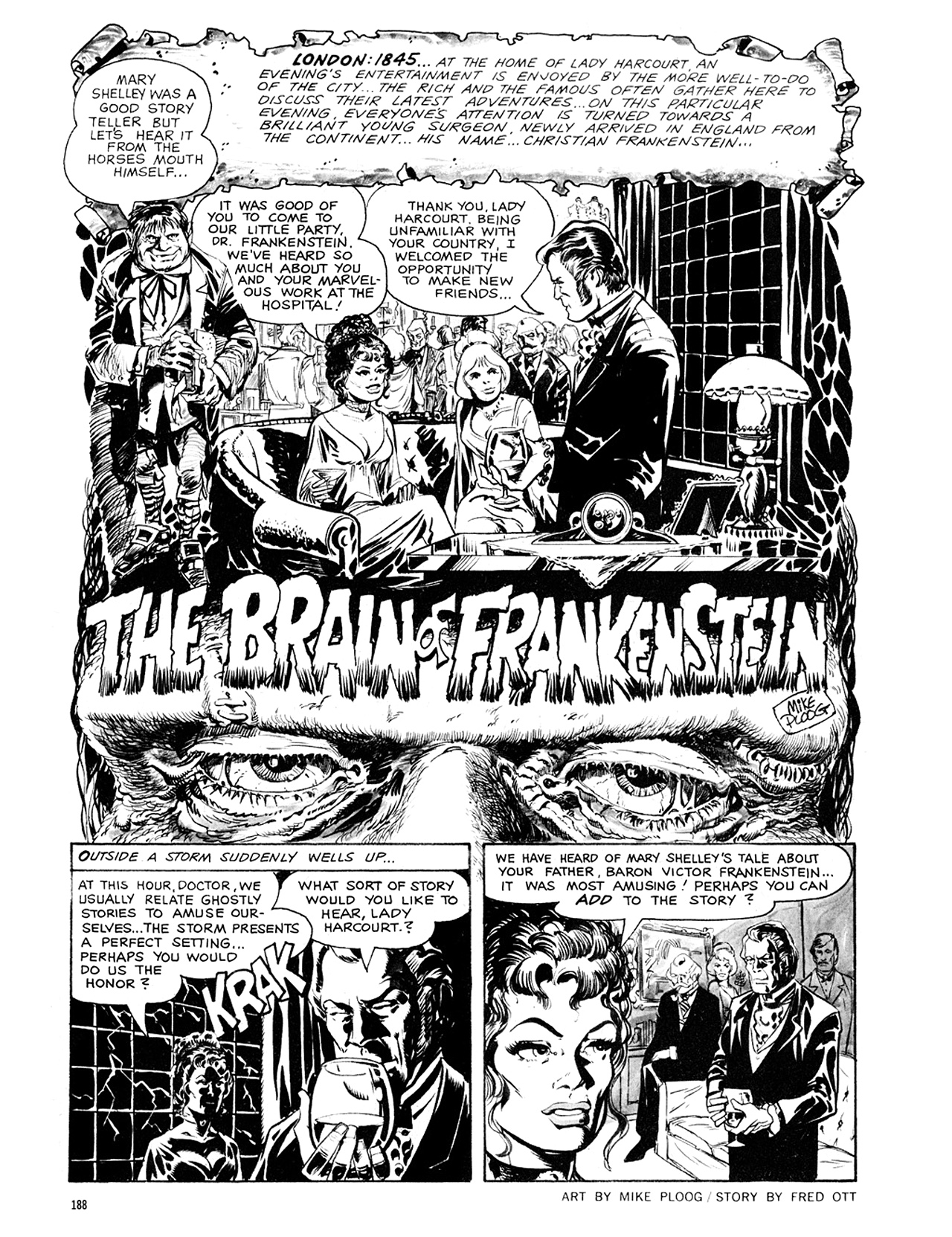 Read online Eerie Archives comic -  Issue # TPB 8 - 189