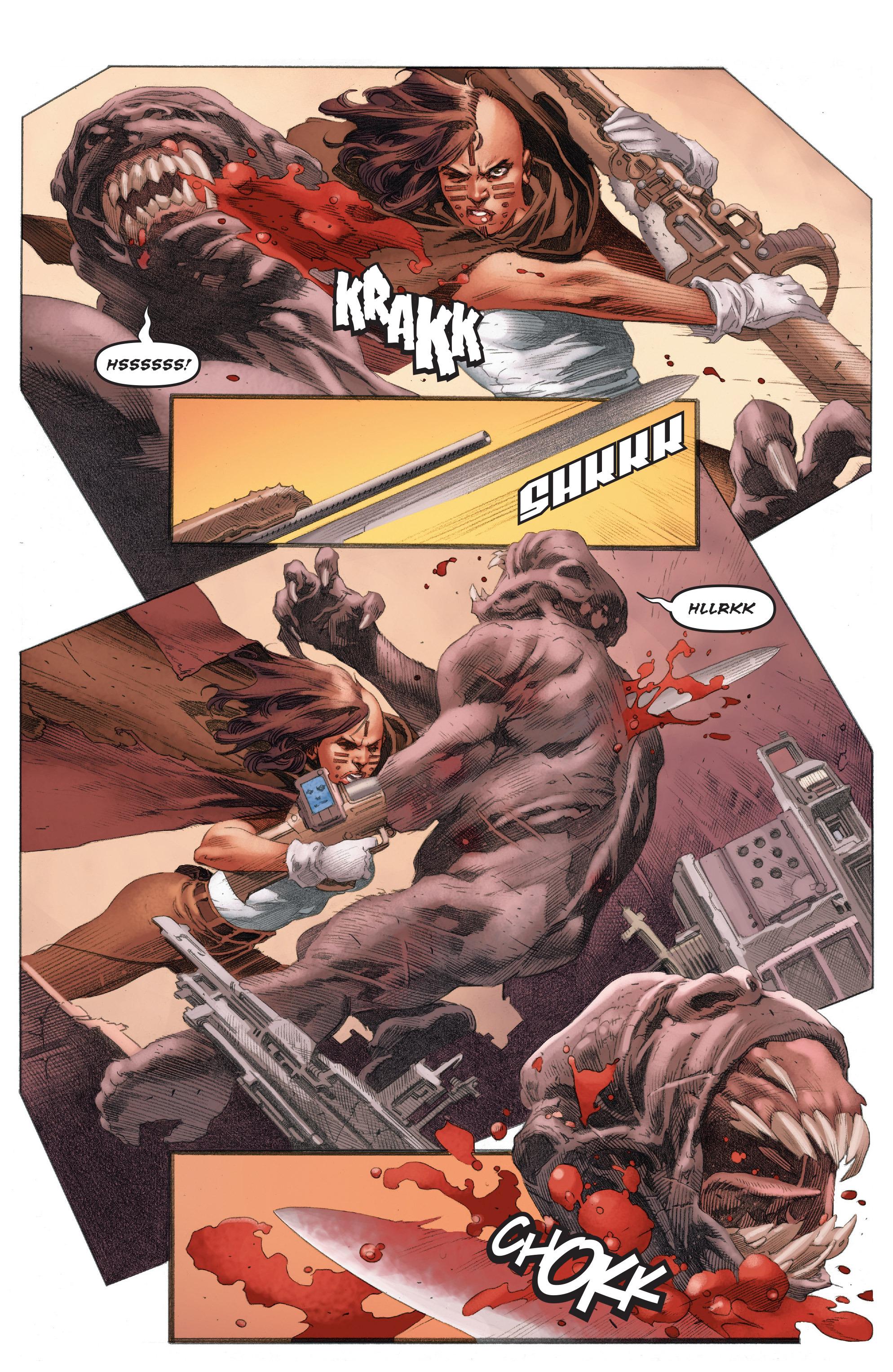 Read online 4001 A.D.: War Mother comic -  Issue #4001 A.D.: War Mother Full - 17