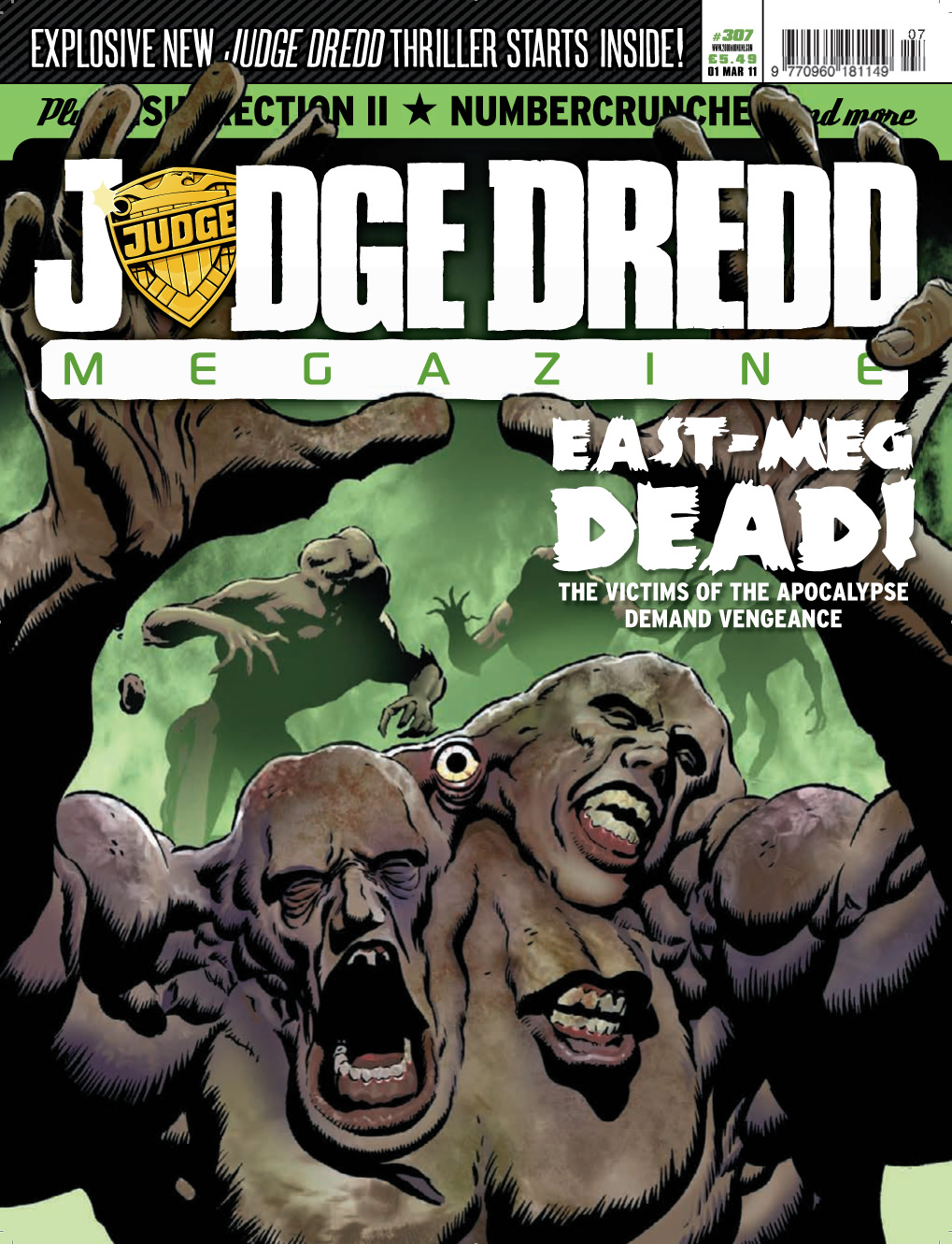 Judge Dredd Megazine (Vol. 5) 307 Page 1