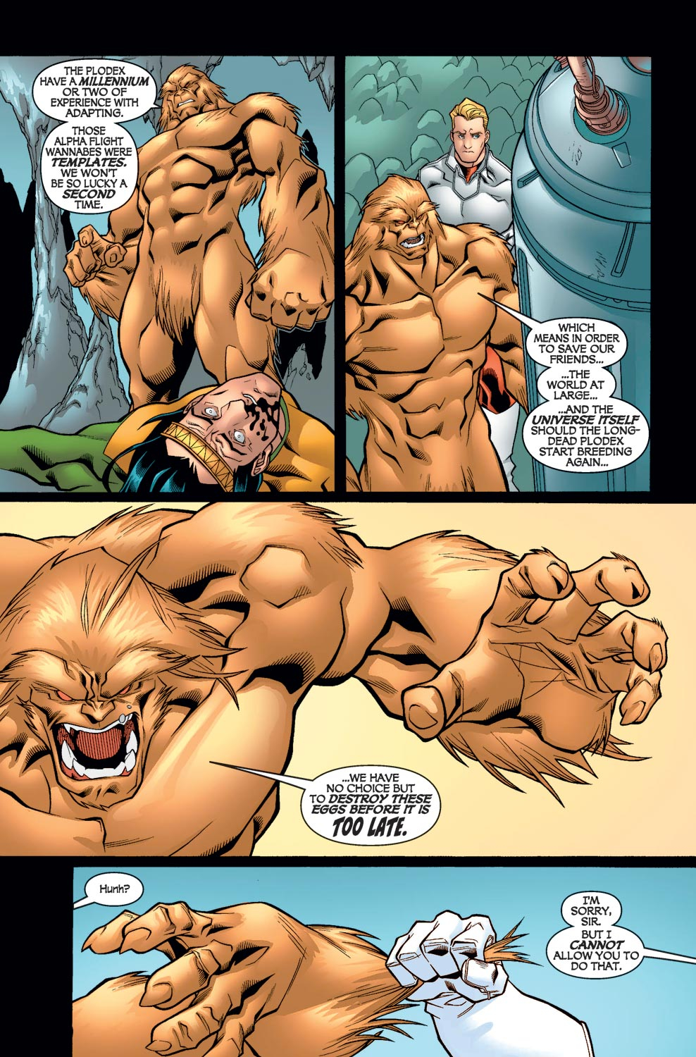 Alpha Flight (2004) issue 6 - Page 7