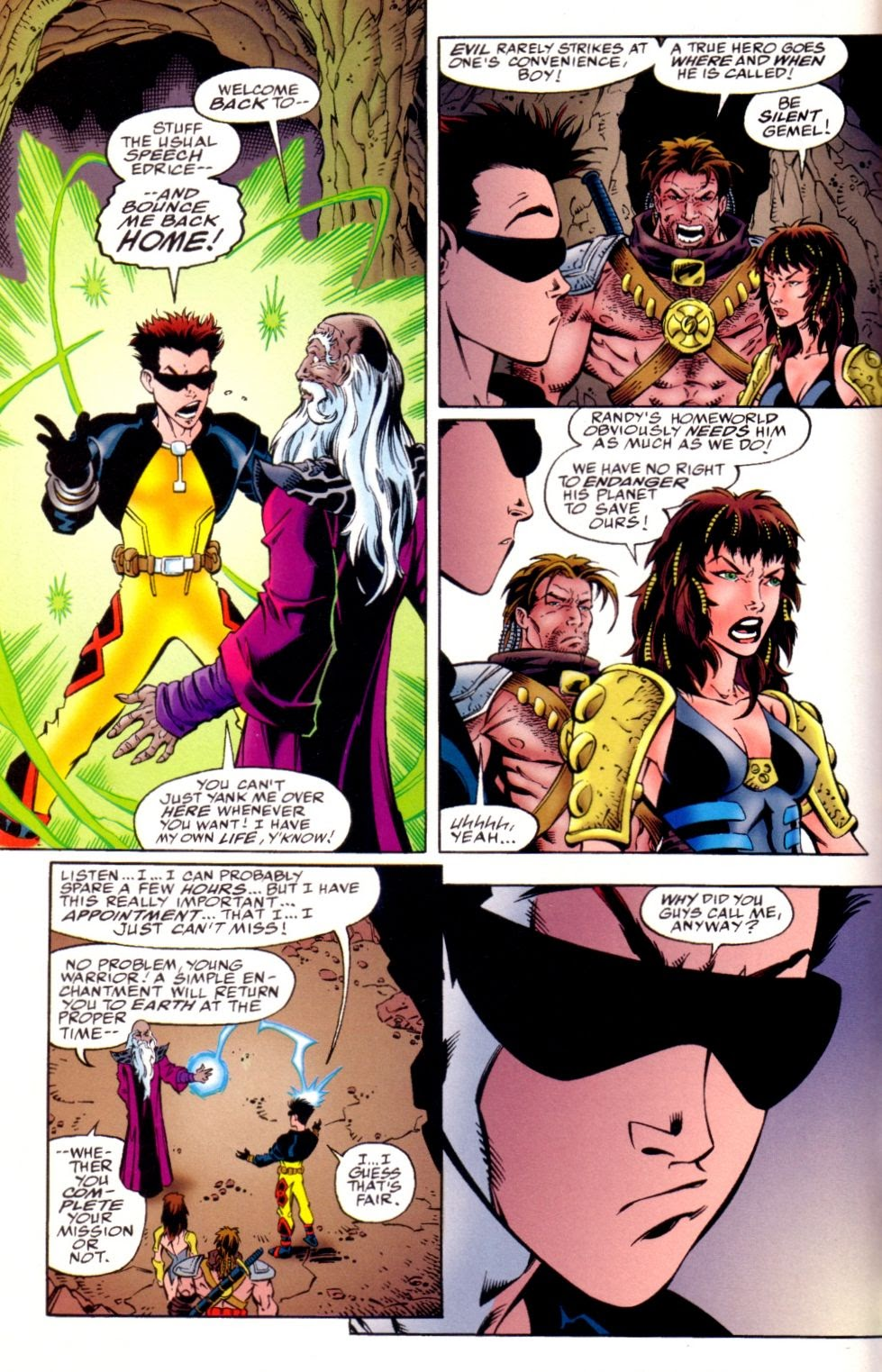 Read online Randy O'Donnell is The M@N comic -  Issue #3 - 6