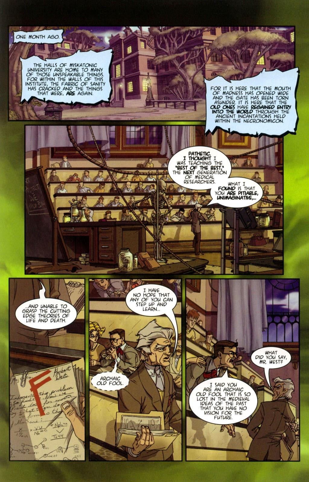 Read online Re-Animator comic -  Issue # Full - 4