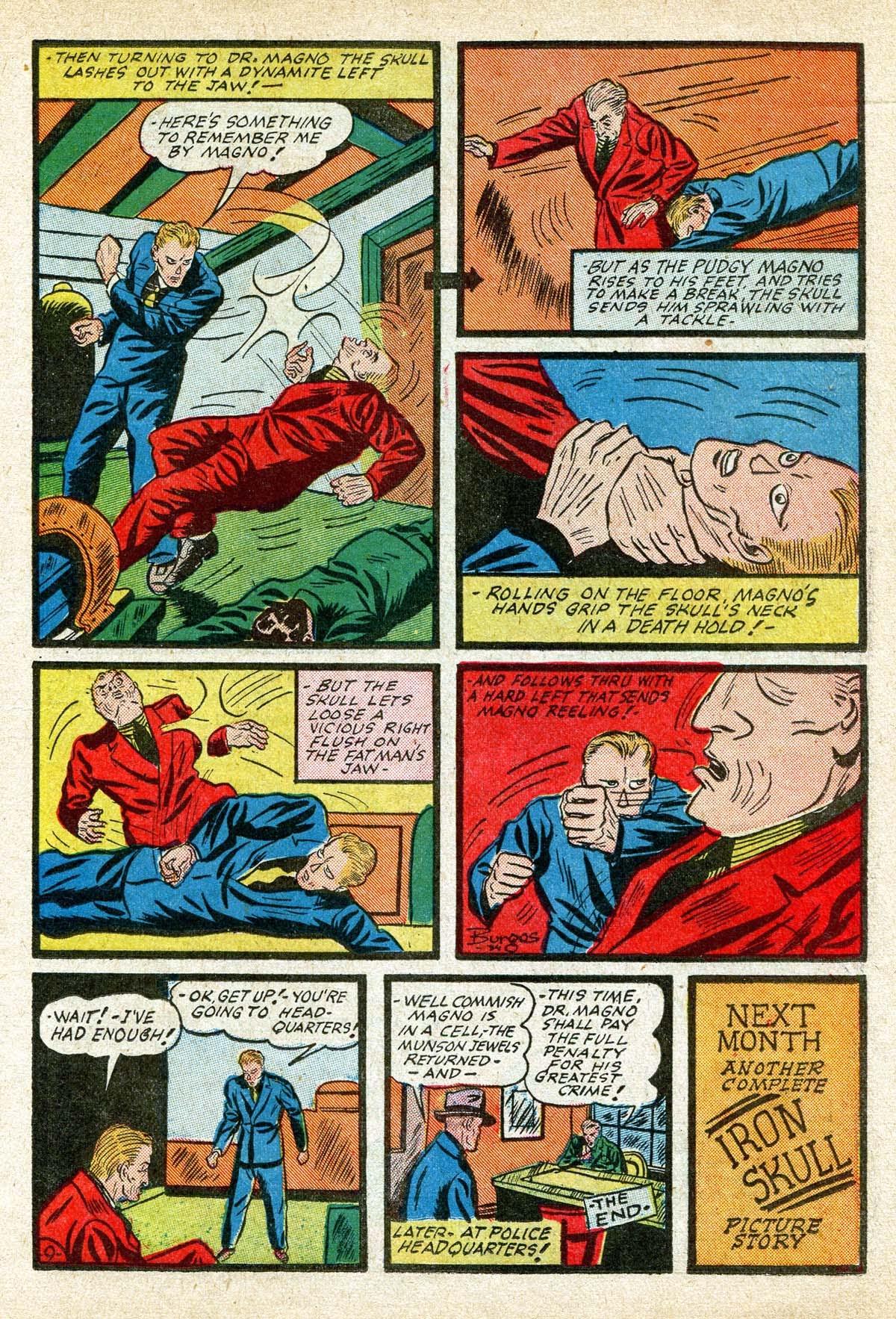 Read online Amazing Man Comics comic -  Issue #8 - 29