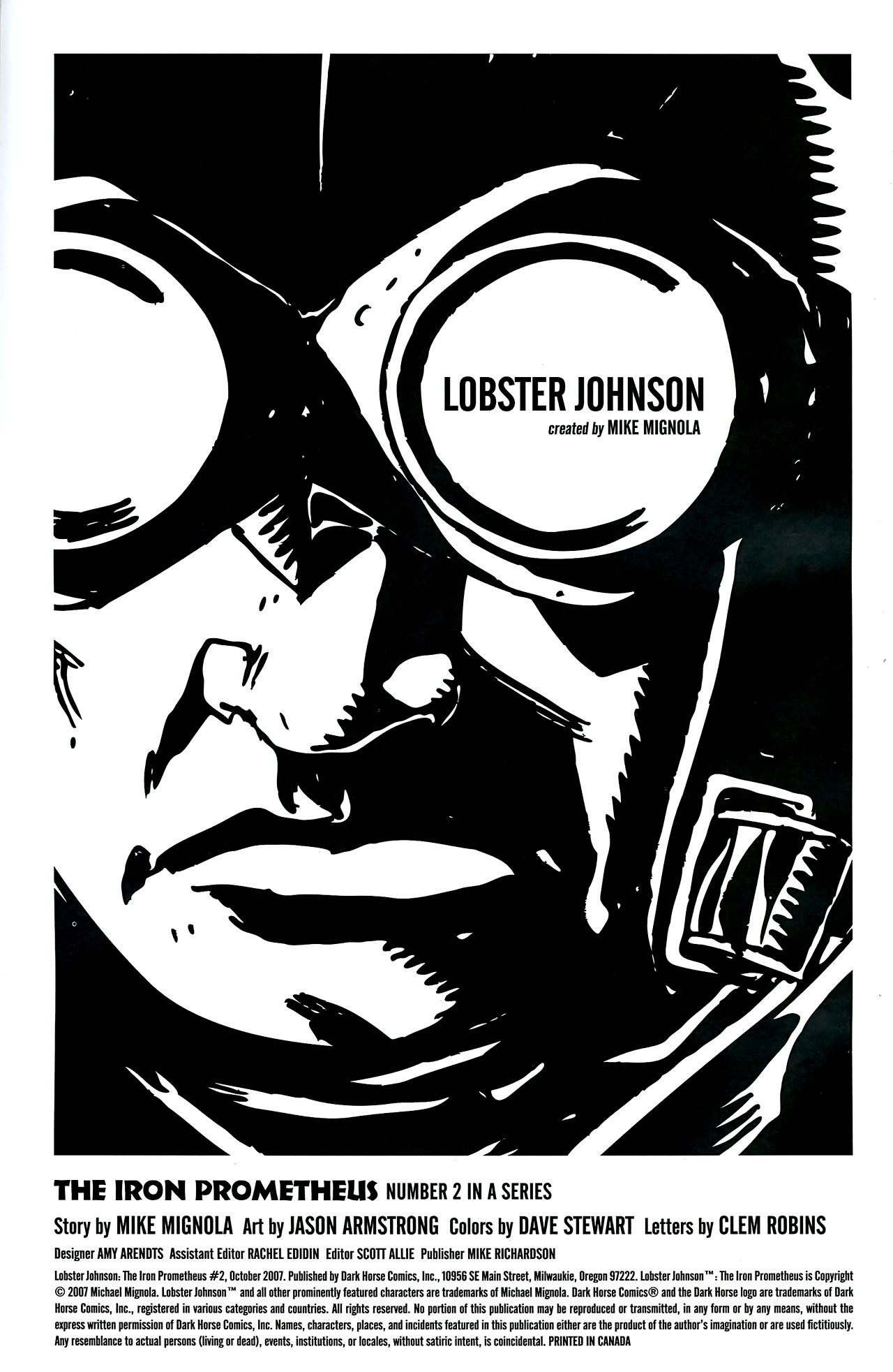 Read online Lobster Johnson: The Iron Prometheus comic -  Issue #2 - 2