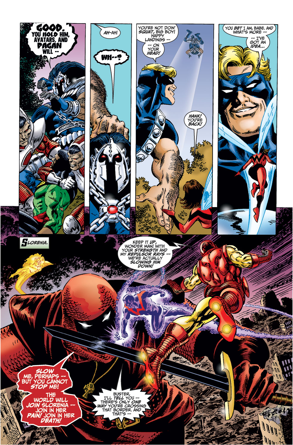 Read online Avengers (1998) comic -  Issue #37 - 13