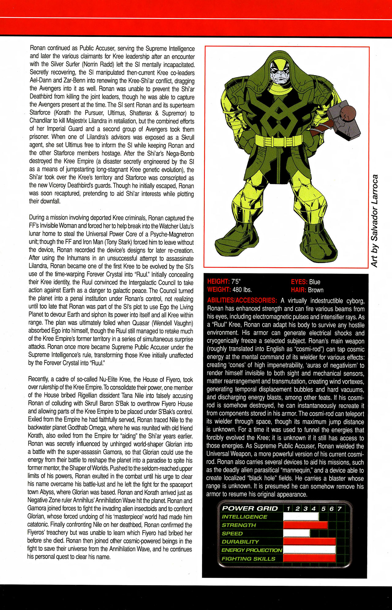Read online All-New Official Handbook of the Marvel Universe A to Z comic -  Issue #9 - 34