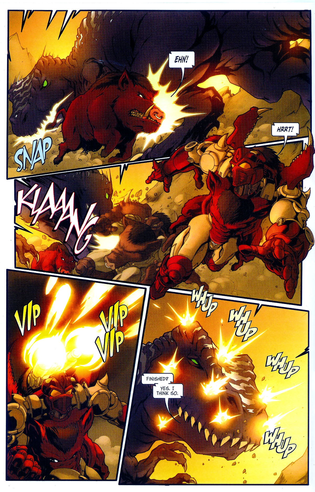 Read online Transformers, Beast Wars: The Gathering comic -  Issue #2 - 17