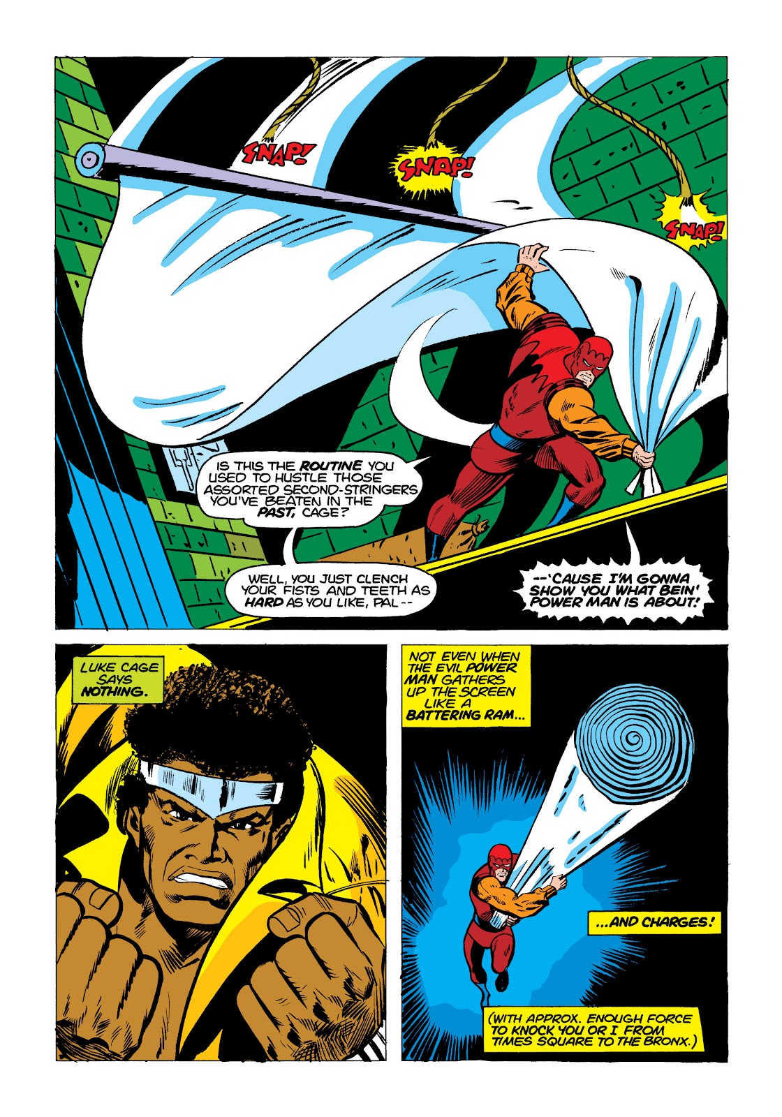 Read online Marvel Masterworks: Luke Cage, Power Man comic -  Issue # TPB 2 (Part 1) - 100