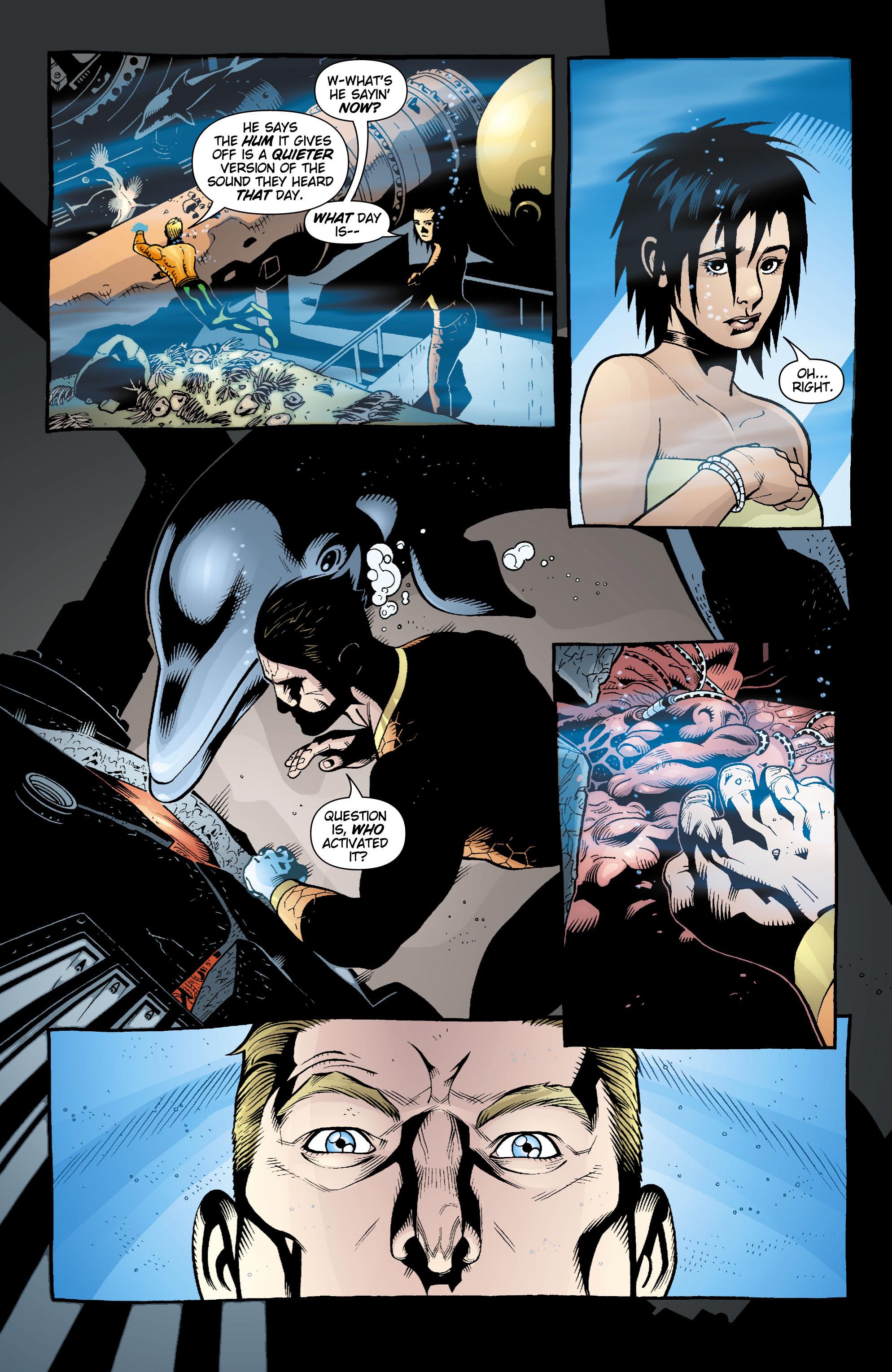 Read online Aquaman (2003) comic -  Issue #17 - 21