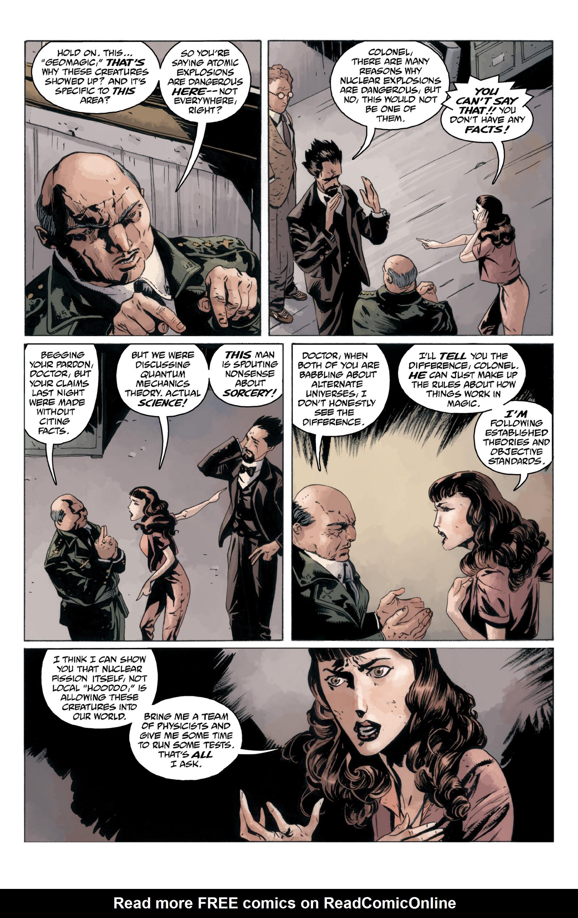 Read online B.P.R.D.: 1948 comic -  Issue # TPB - 89