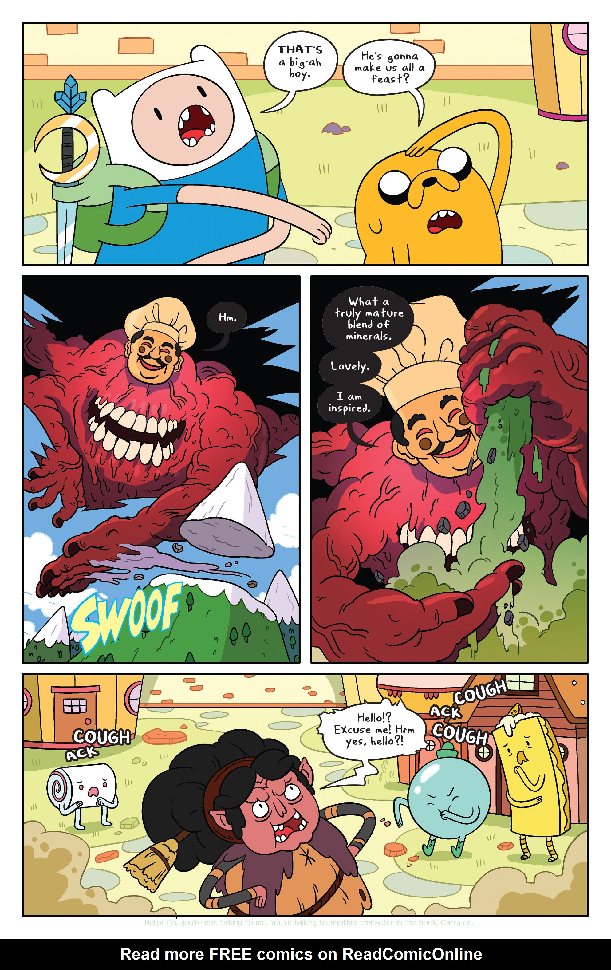 Read online Adventure Time comic -  Issue #39 - 6