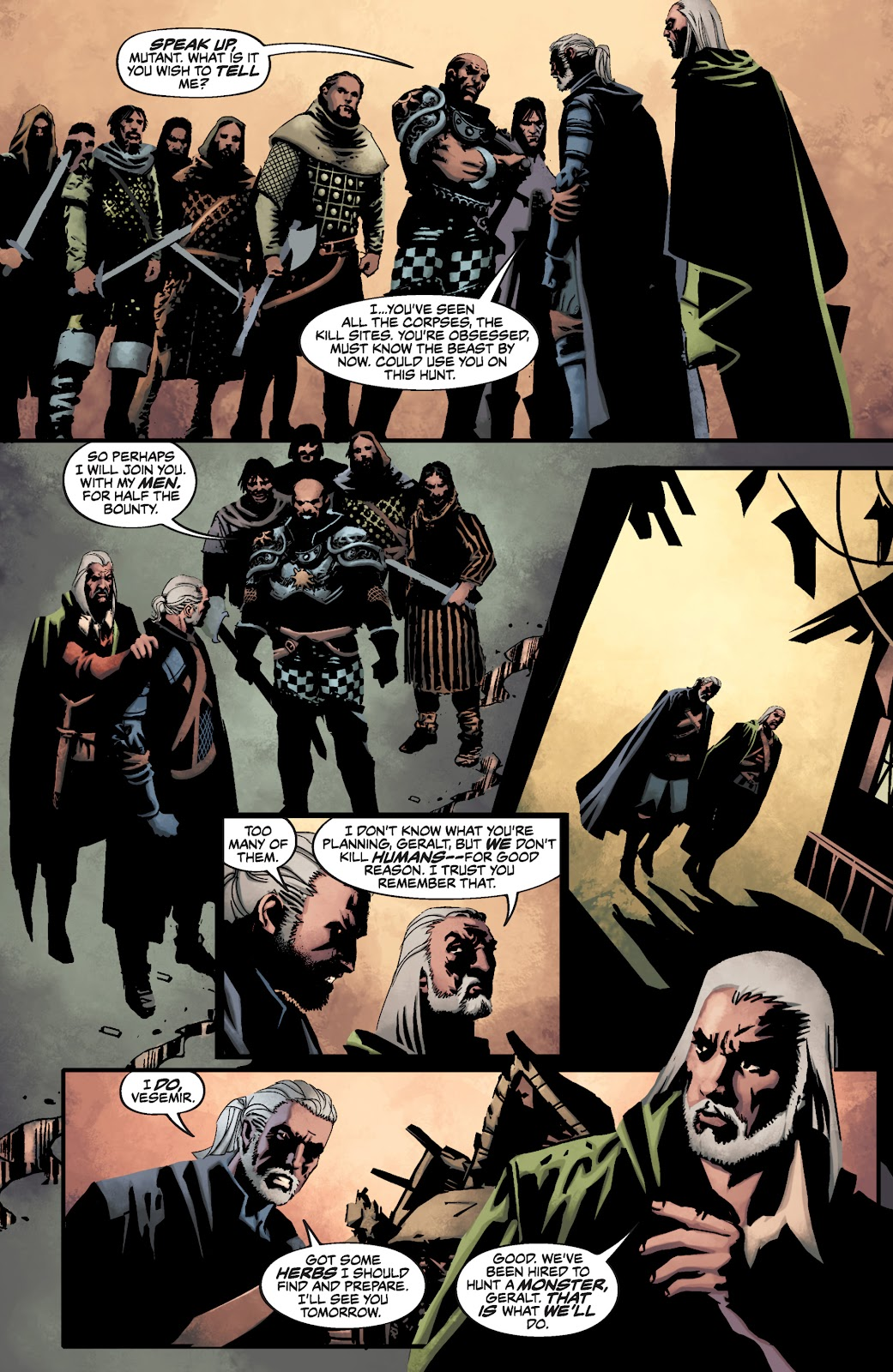 Read online The Witcher Omnibus comic -  Issue # TPB (Part 3) - 78