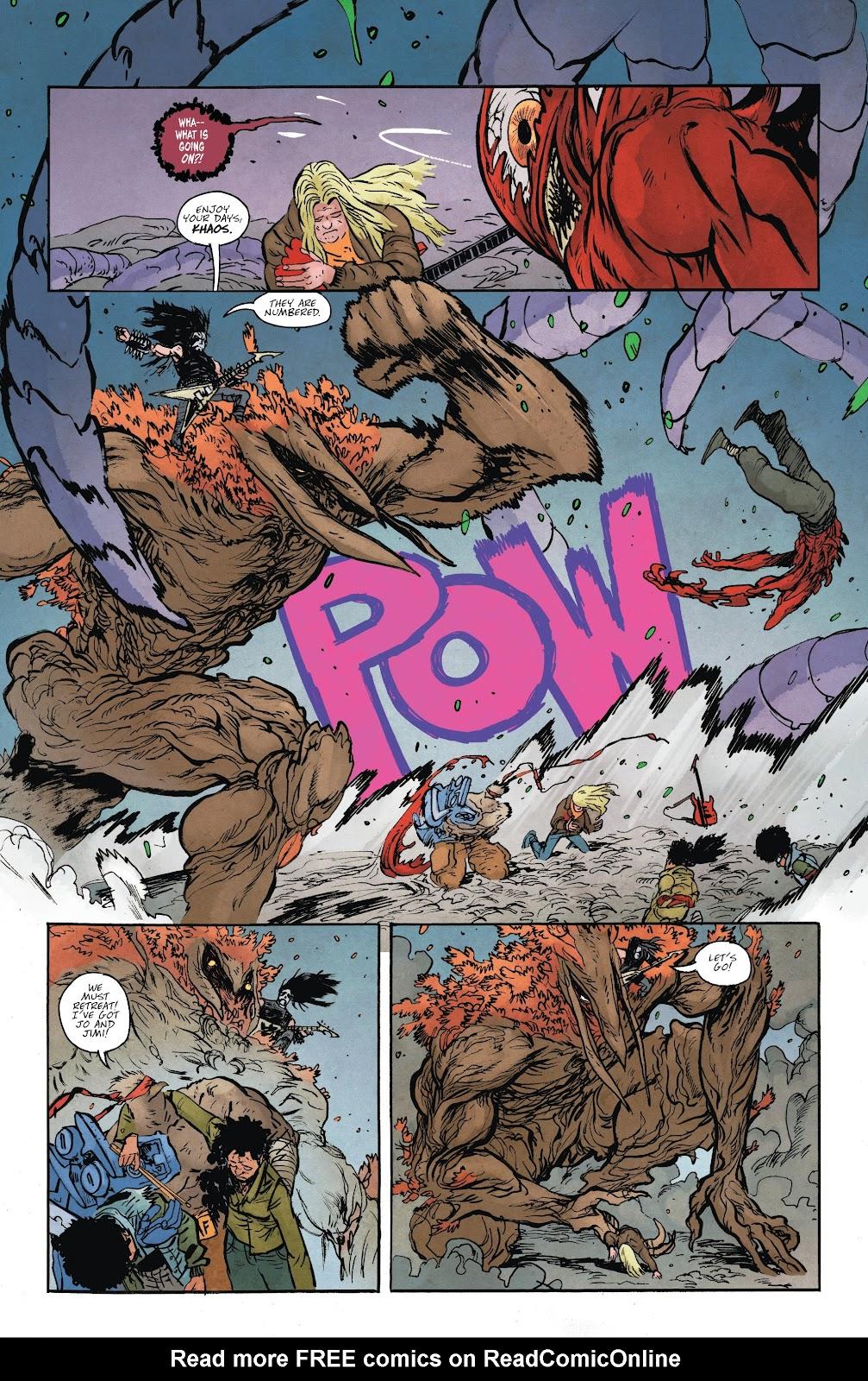 Read online Murder Falcon comic -  Issue #6 - 20