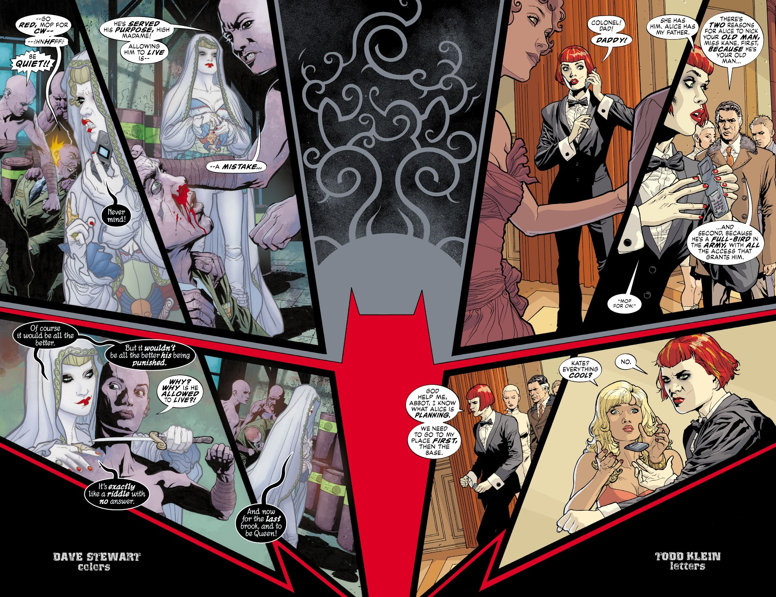 Read online Detective Comics (1937) comic -  Issue # _TPB Batwoman - Elegy (Part 1) - 67