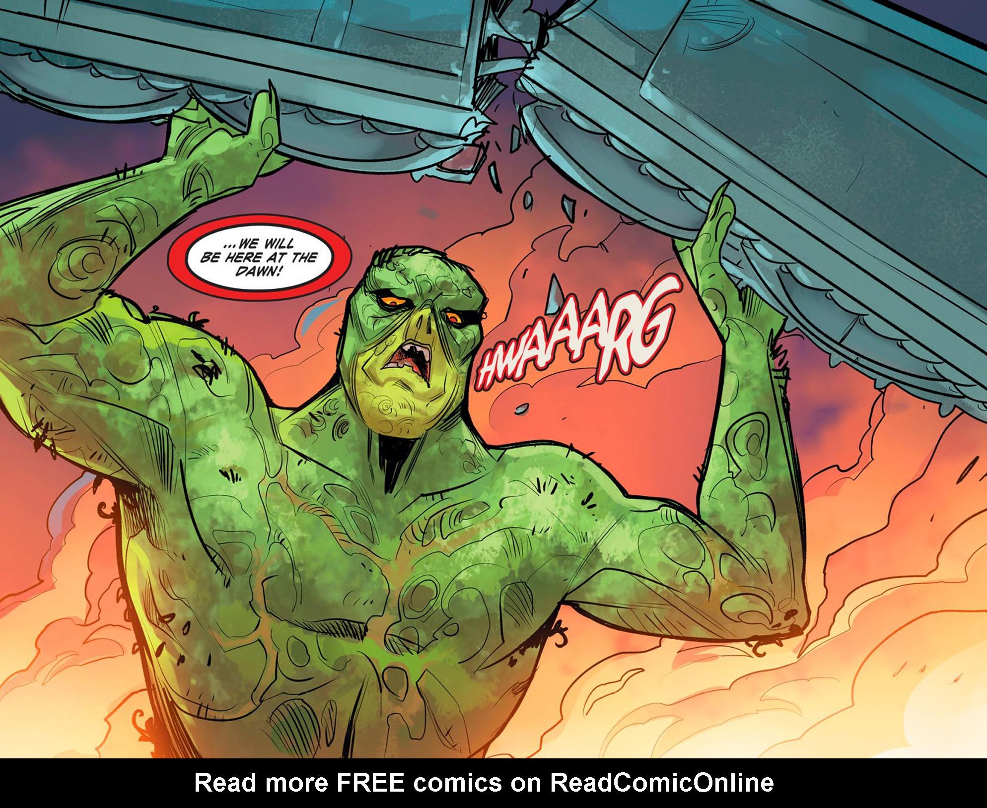 Read online DC Comics: Bombshells comic -  Issue #95 - 20