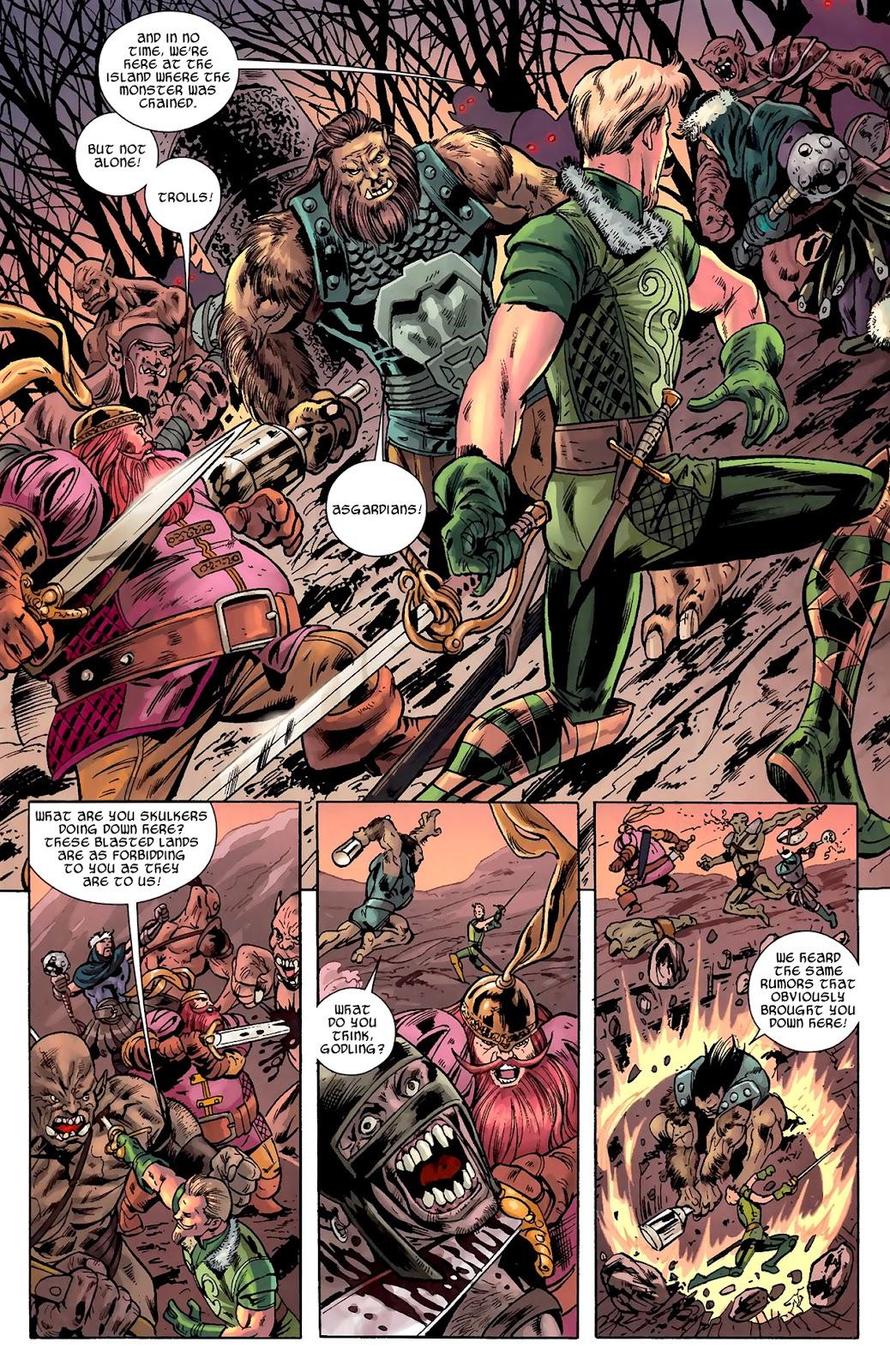 Warriors Three Issue #1 #1 - English 21