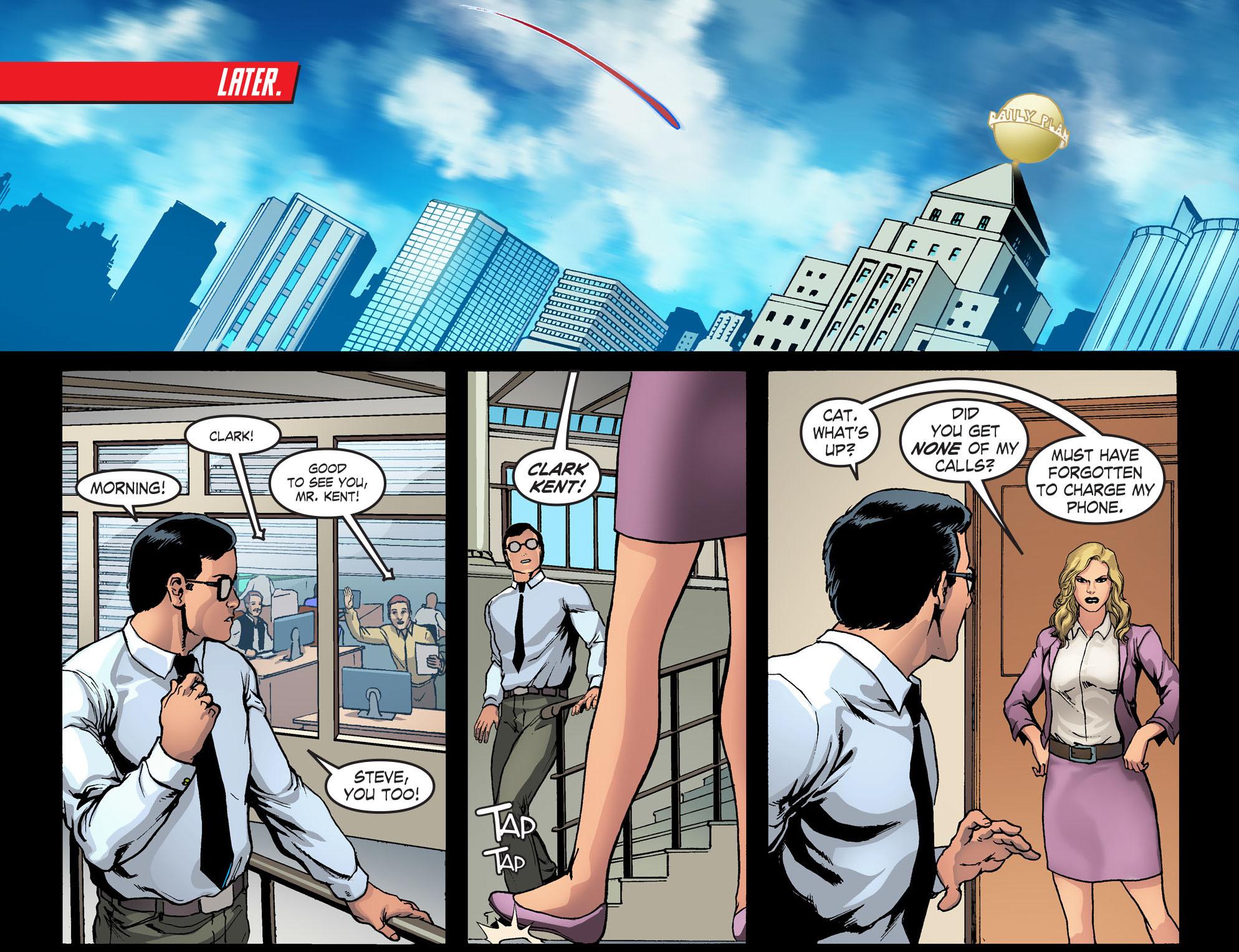 Read online Smallville: Season 11 comic -  Issue #42 - 17