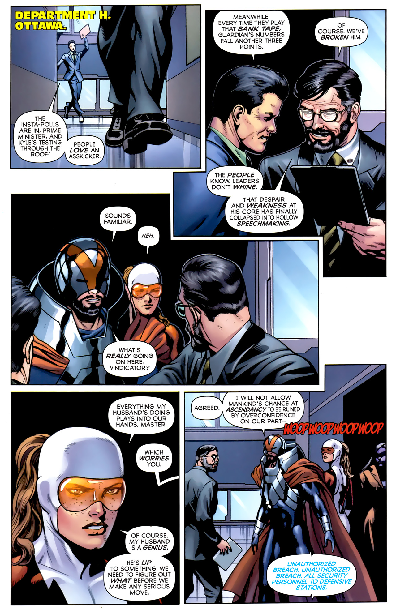 Read online Alpha Flight (2011) comic -  Issue #5 - 20