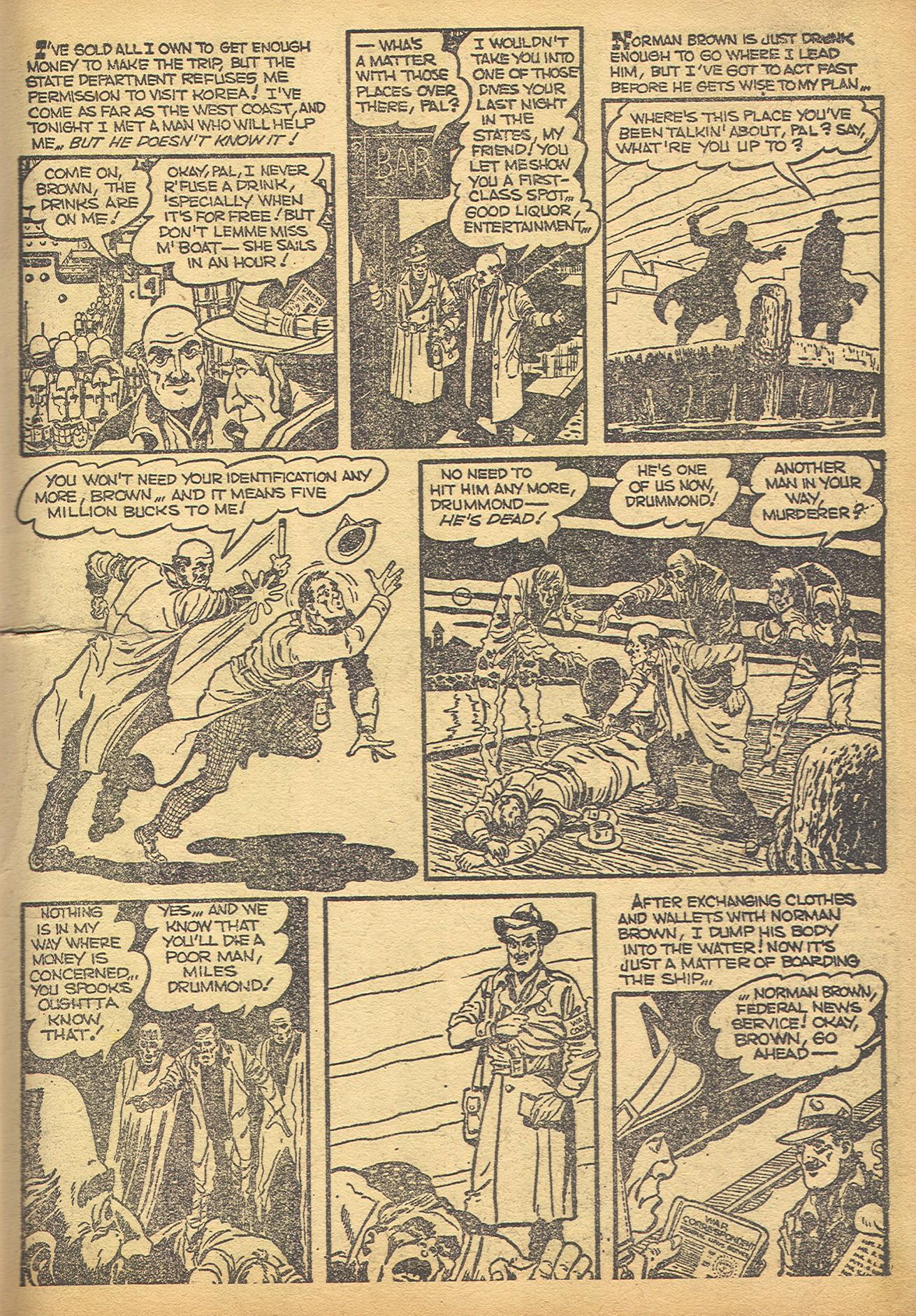 Read online Adventures into Weird Worlds comic -  Issue #8 - 10