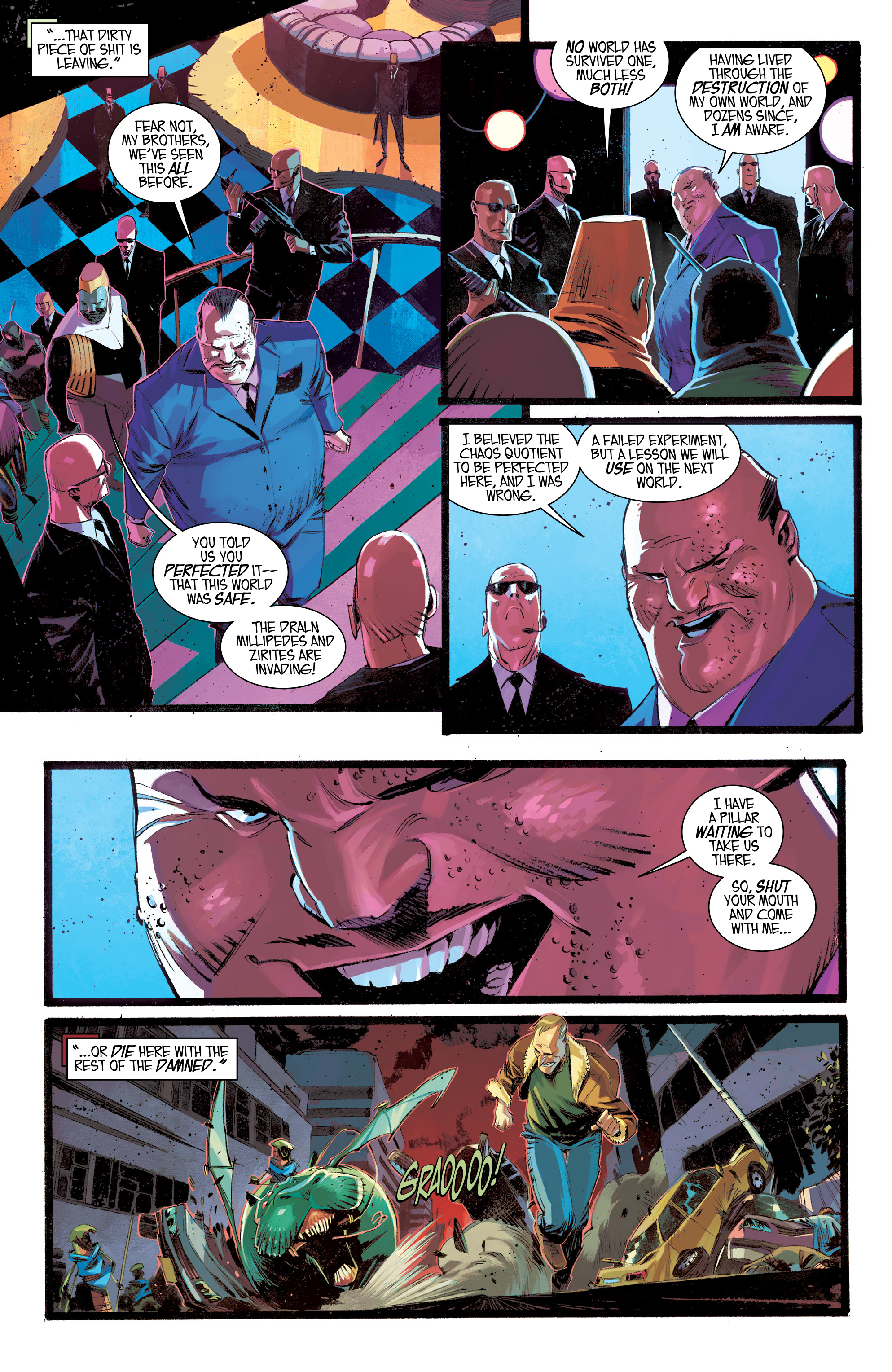 Read online Black Science comic -  Issue #30 - 12