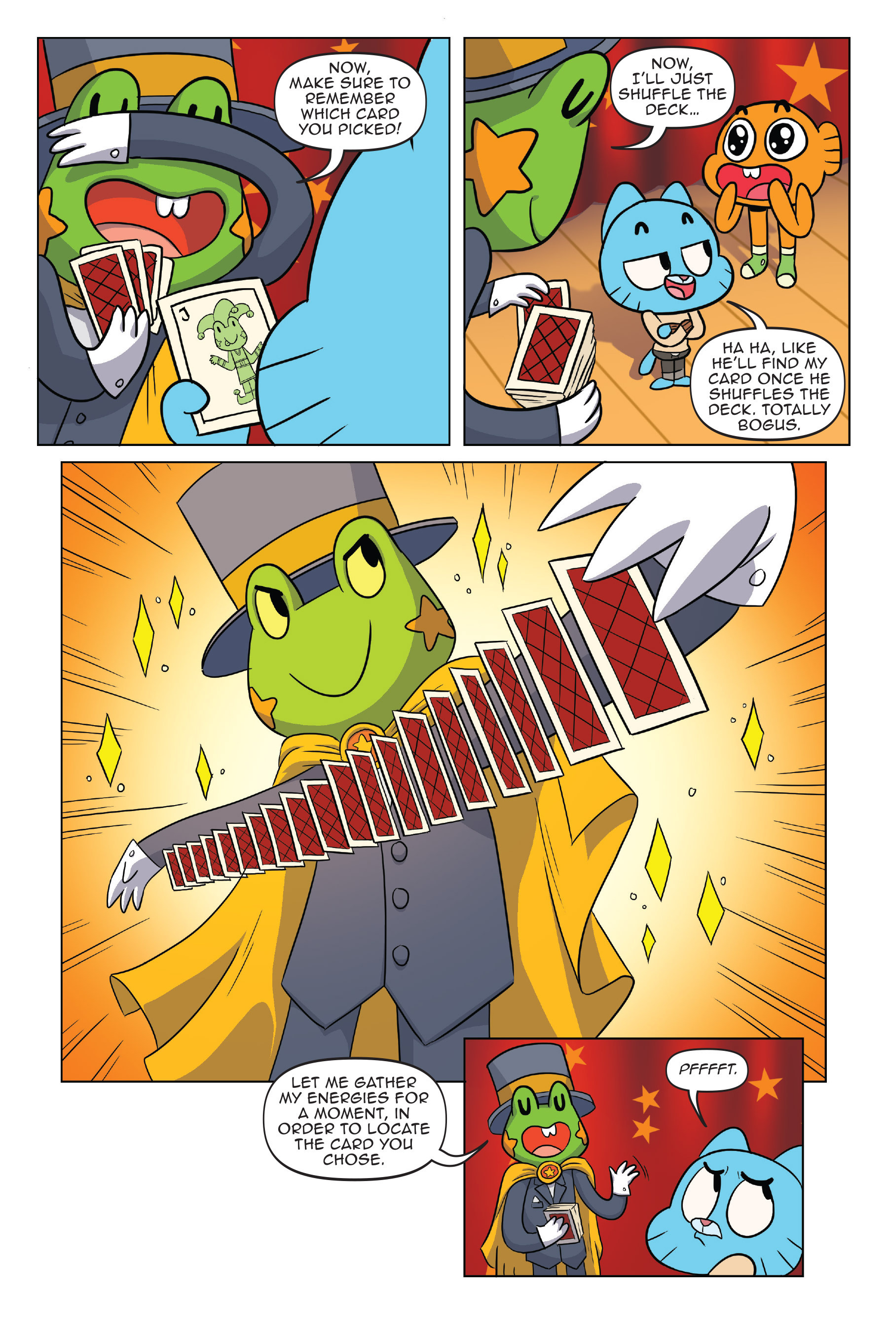 Read online The Amazing World of Gumball: Fairy Tale Trouble comic -  Issue # Full - 16
