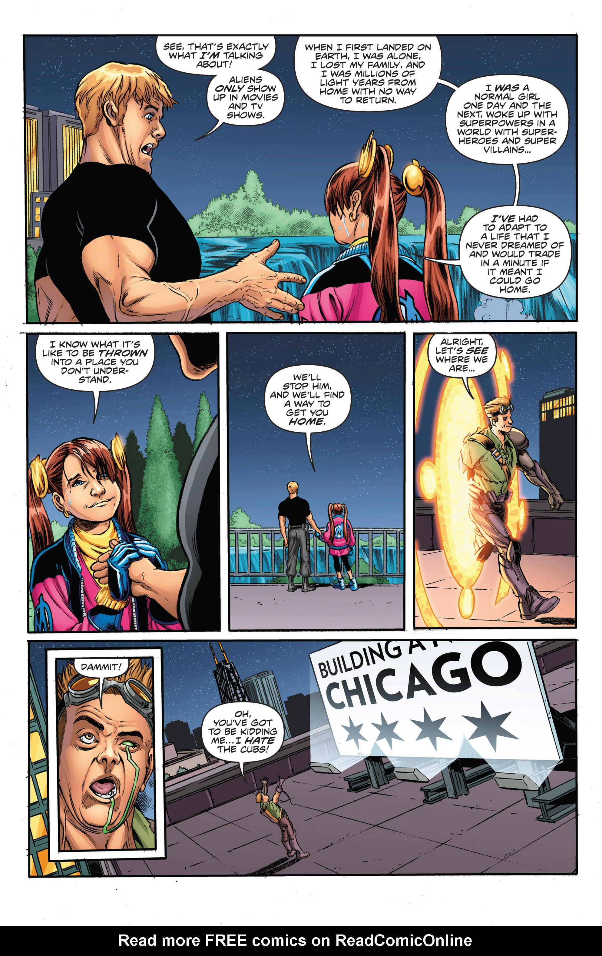 Read online Actionverse comic -  Issue #2 - 20